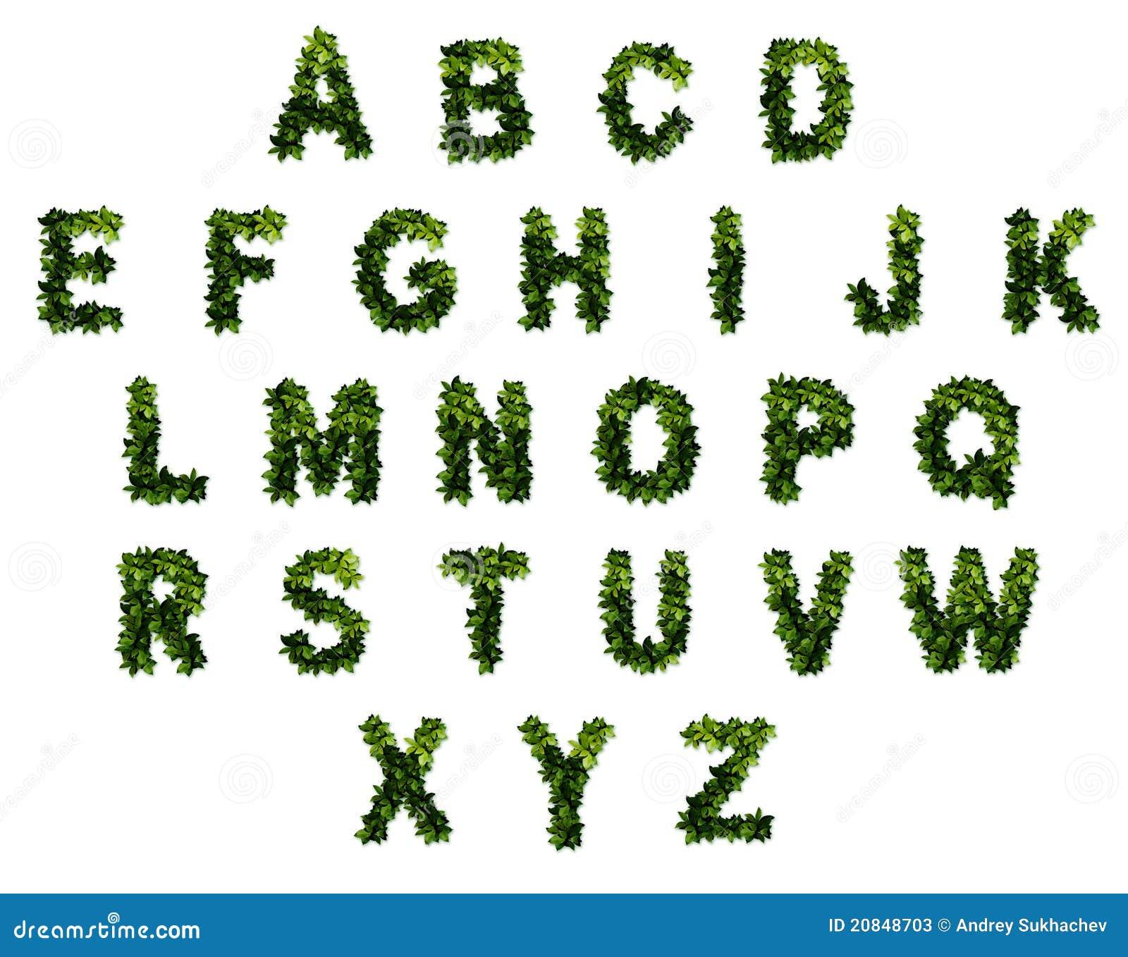 26 Lettres Dans L Alphabet Image Stock Image Du Texte 20848703