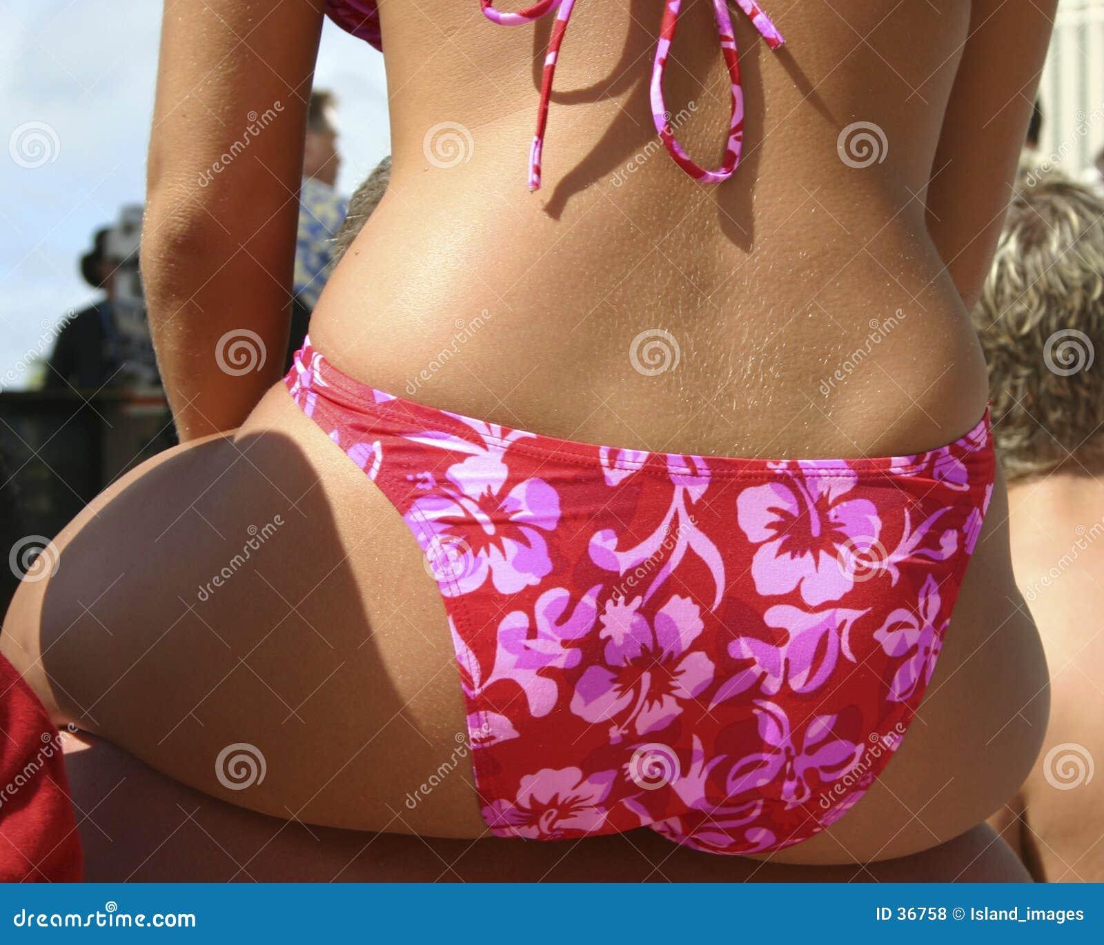 比基尼泳装木槿