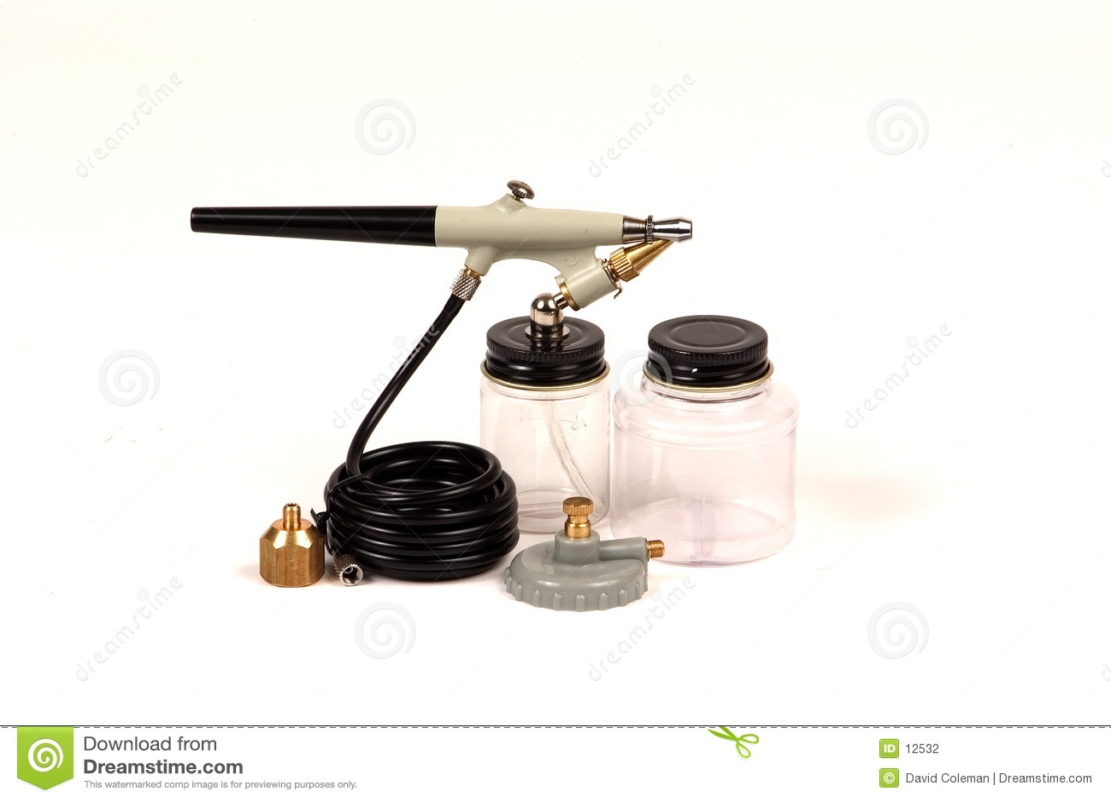 气刷工具箱