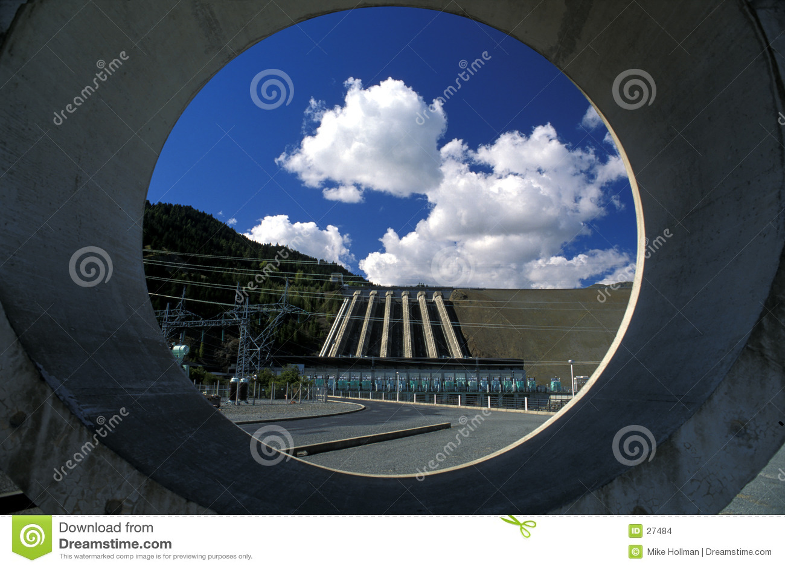 水坝水力发电新西兰