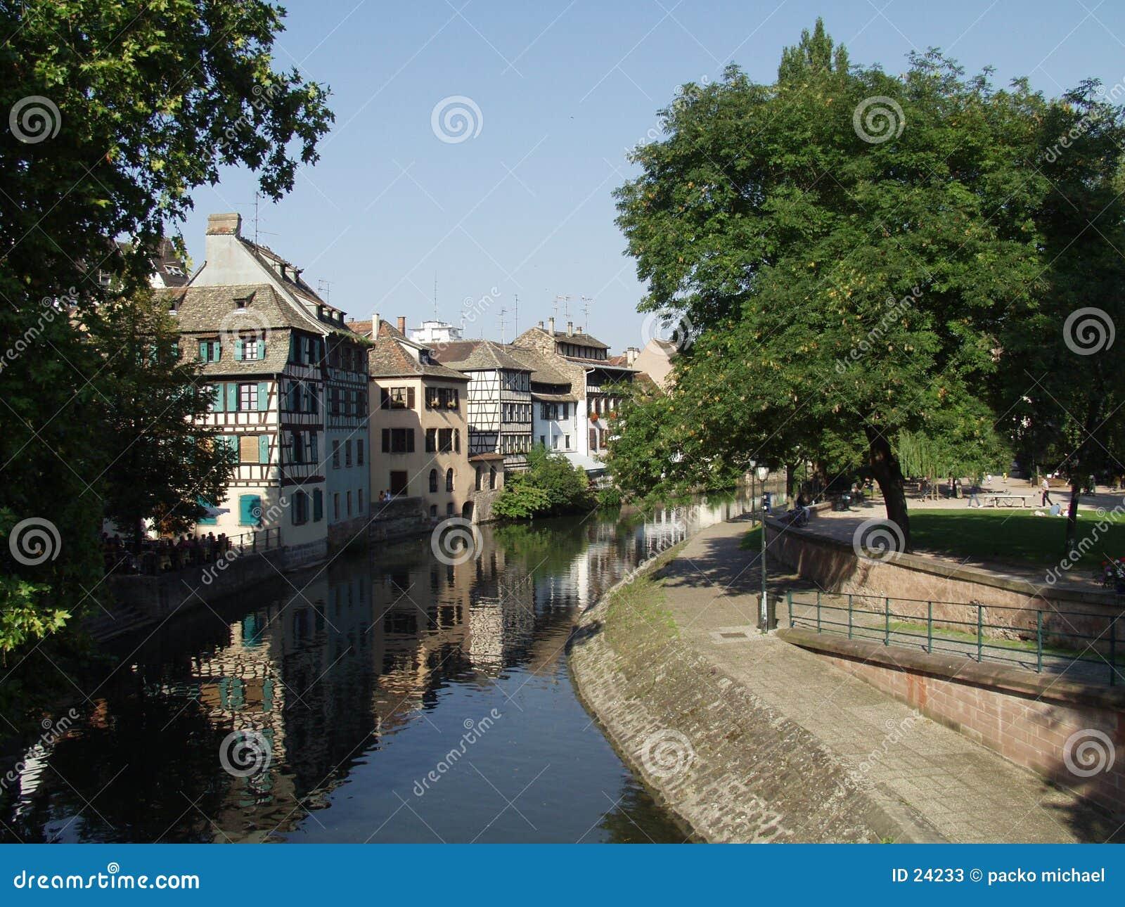 法国史特拉斯堡城镇