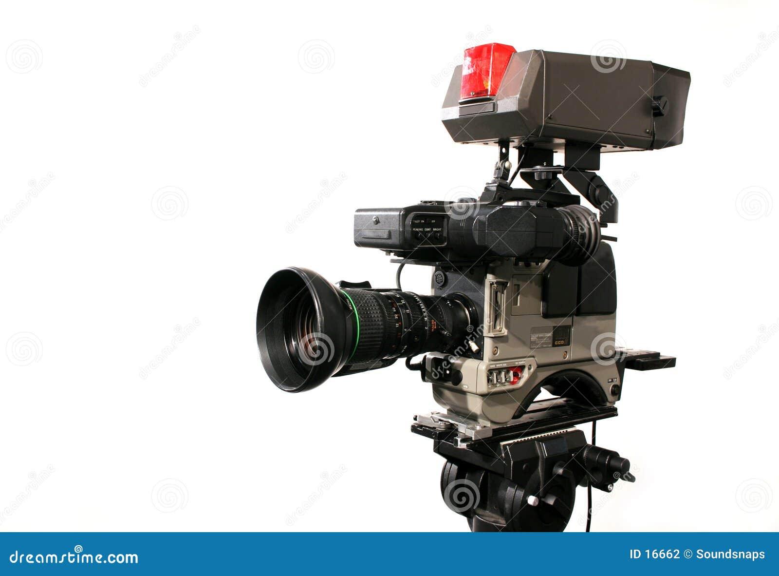 照相机专业人员录影