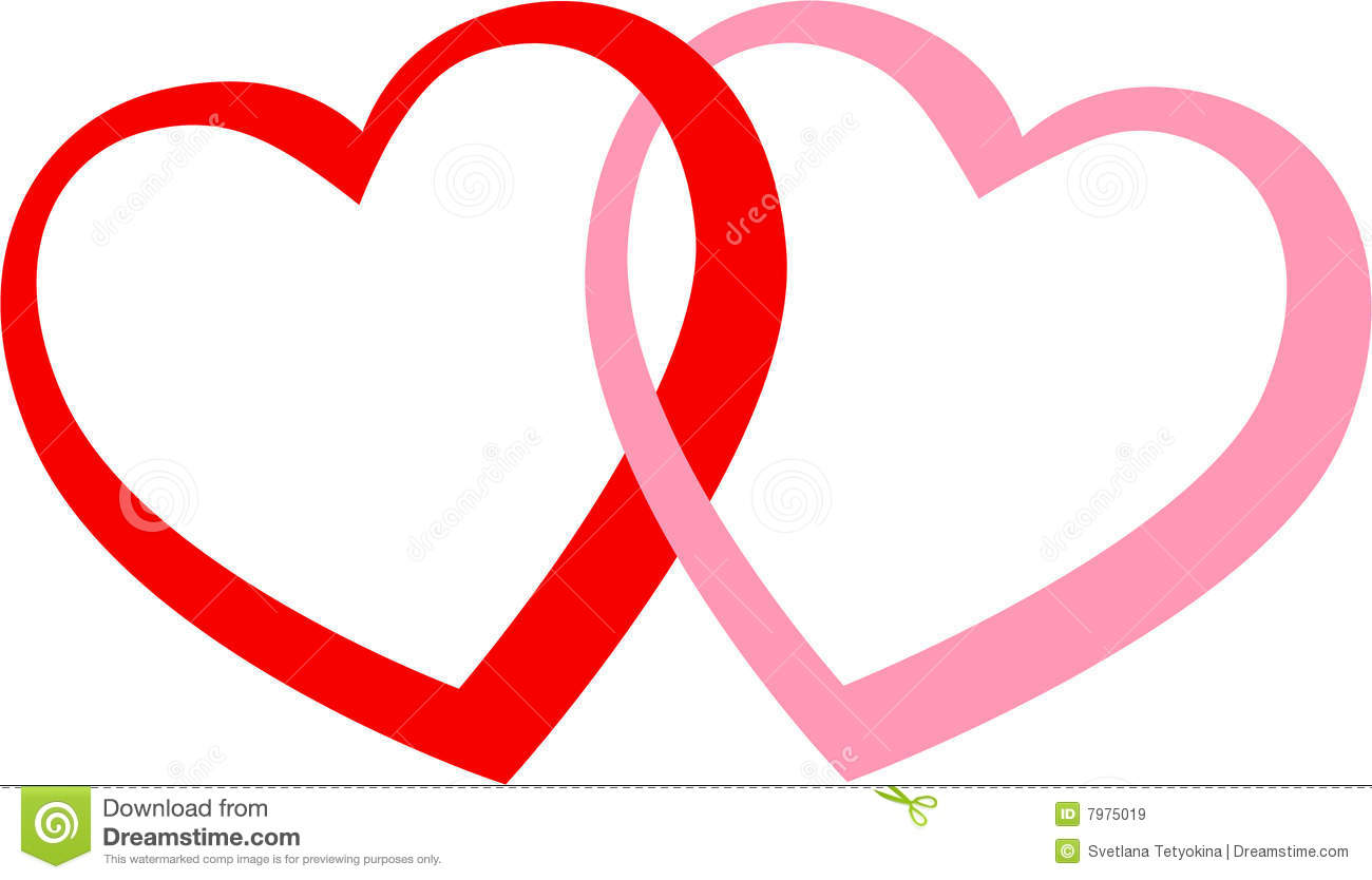 2hearts Royalty Free Stock Images - Image: 7975019