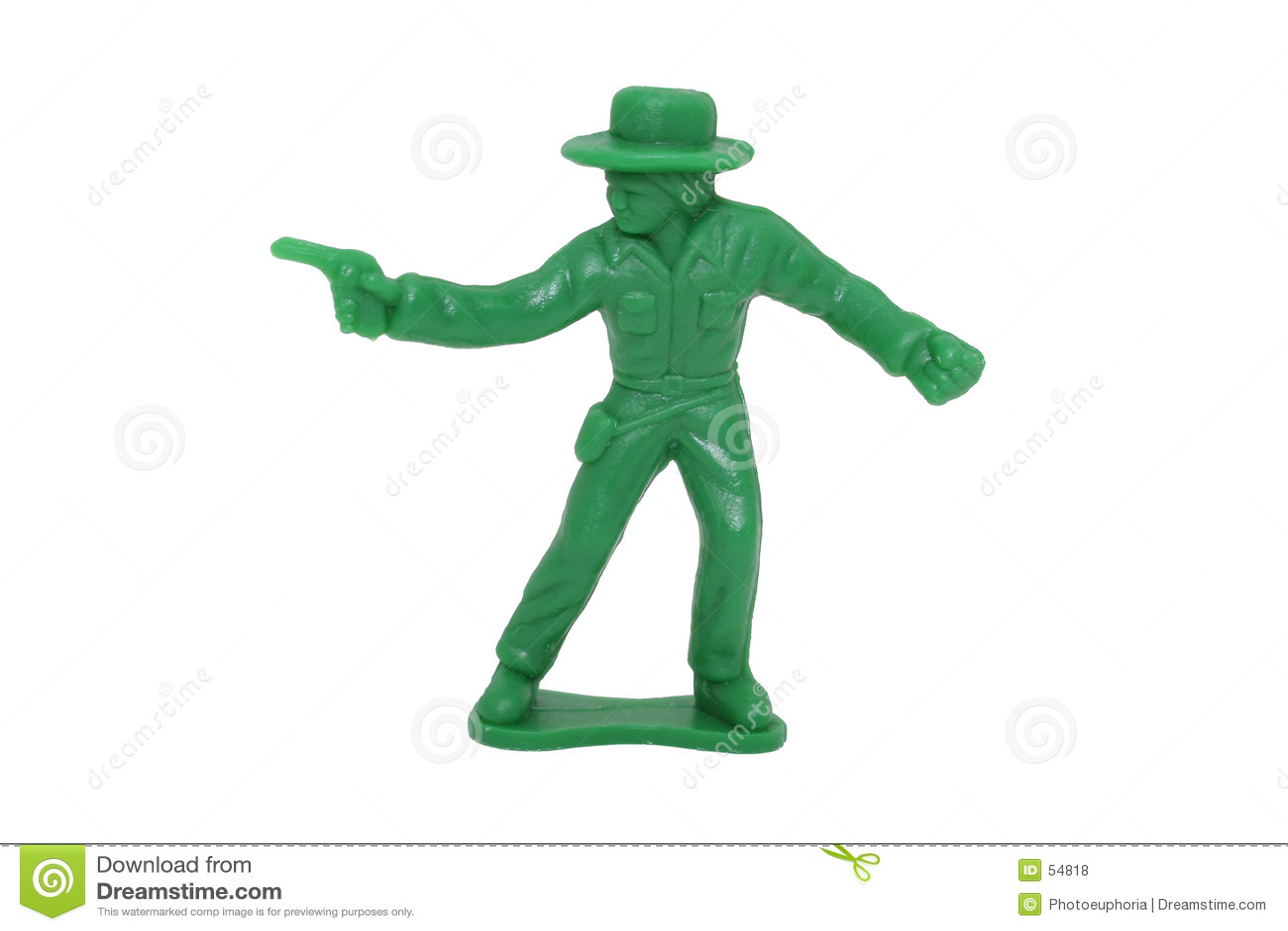 2mp kowboja 8 obraz zielonej zabawka