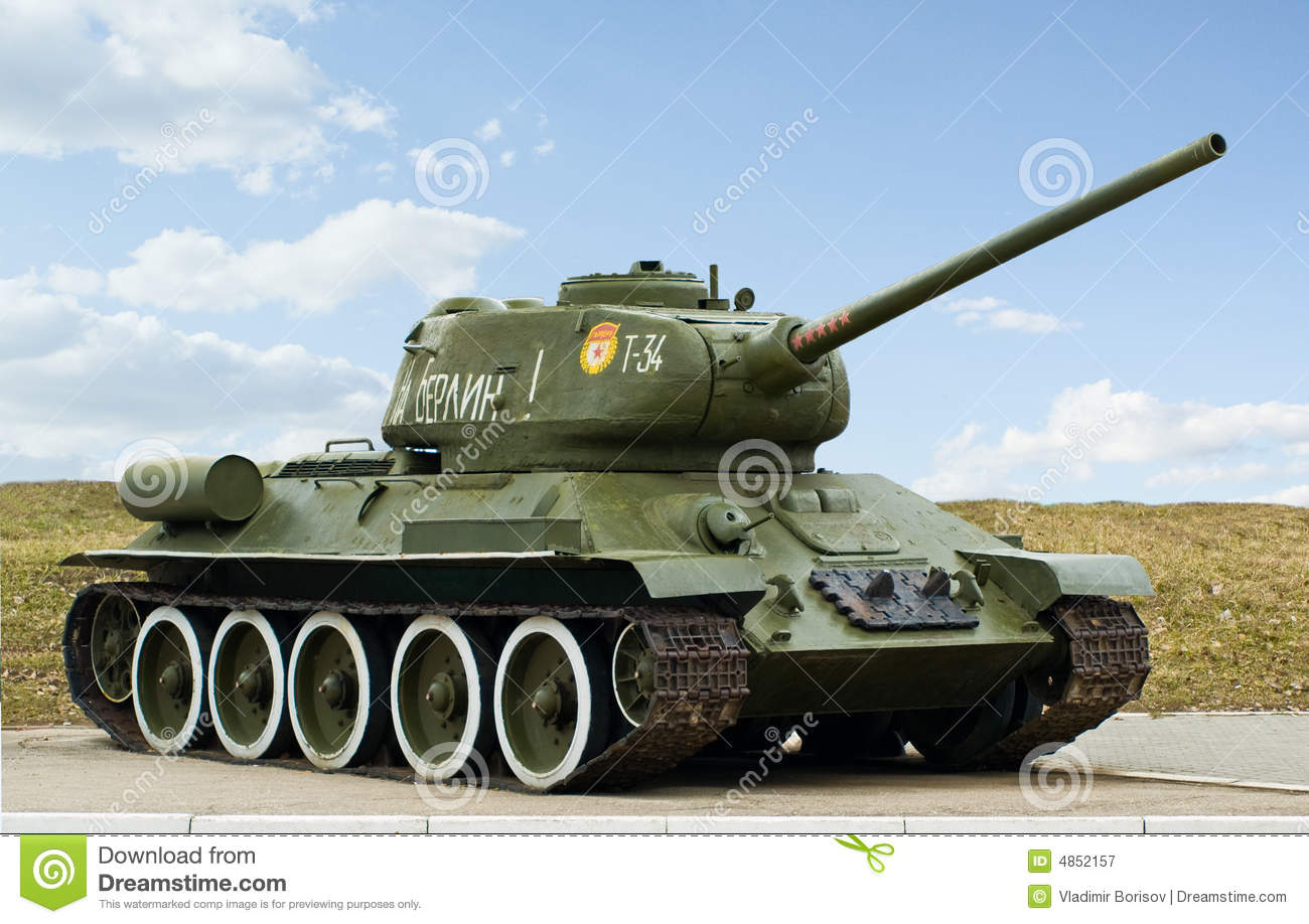 Russian tank t34 royalty free stock images image 23498479 - Royalty Free Stock Photo T34 Tank