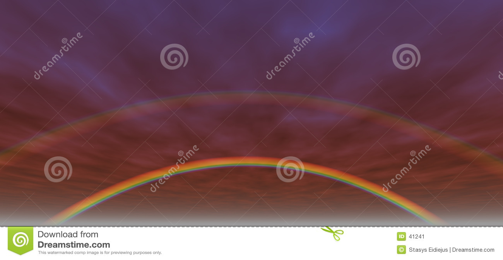 3个背景彩虹