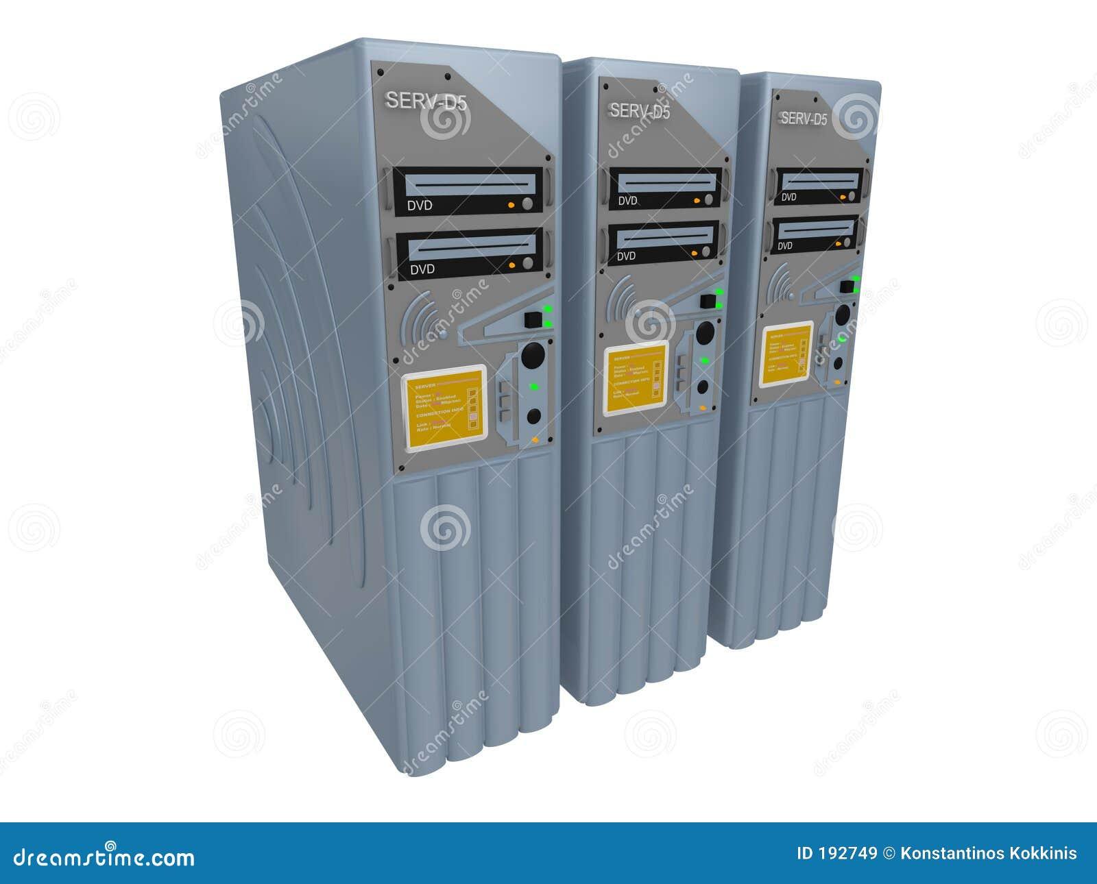 3台3d服务器