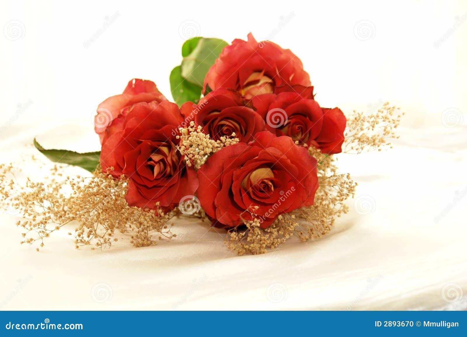3朵杂种玫瑰
