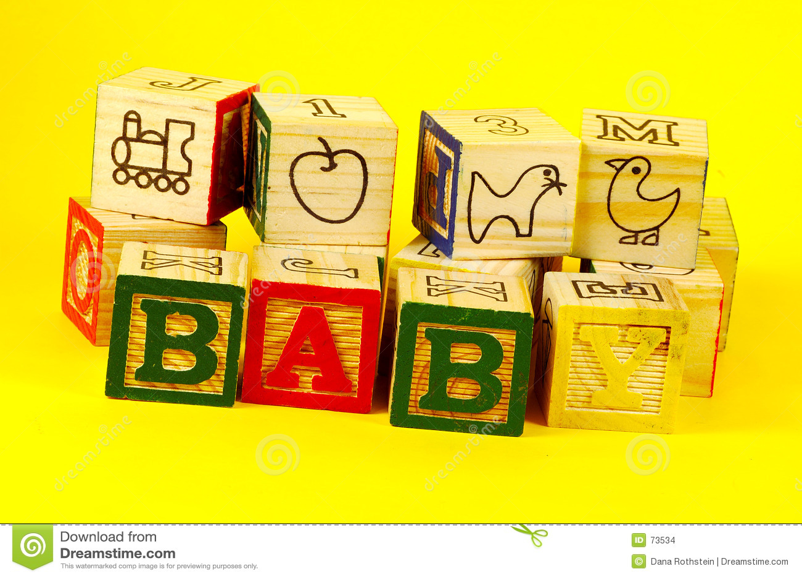 3 ομάδες δεδομένων μωρών