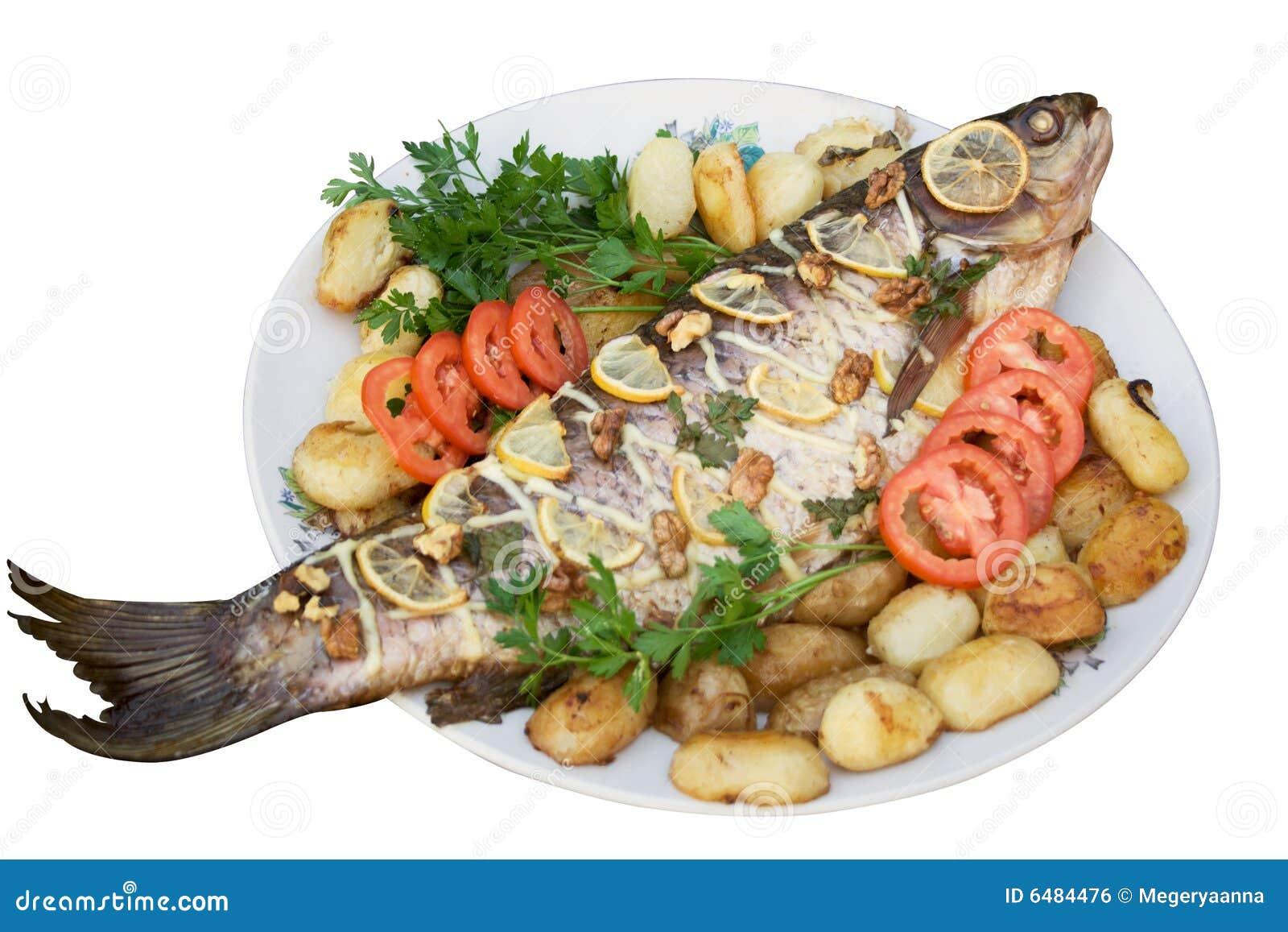 3 ψημένες στη σχάρα ψάρια σε&iota