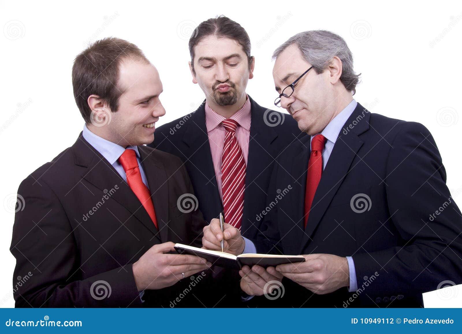 3 бизнесмена