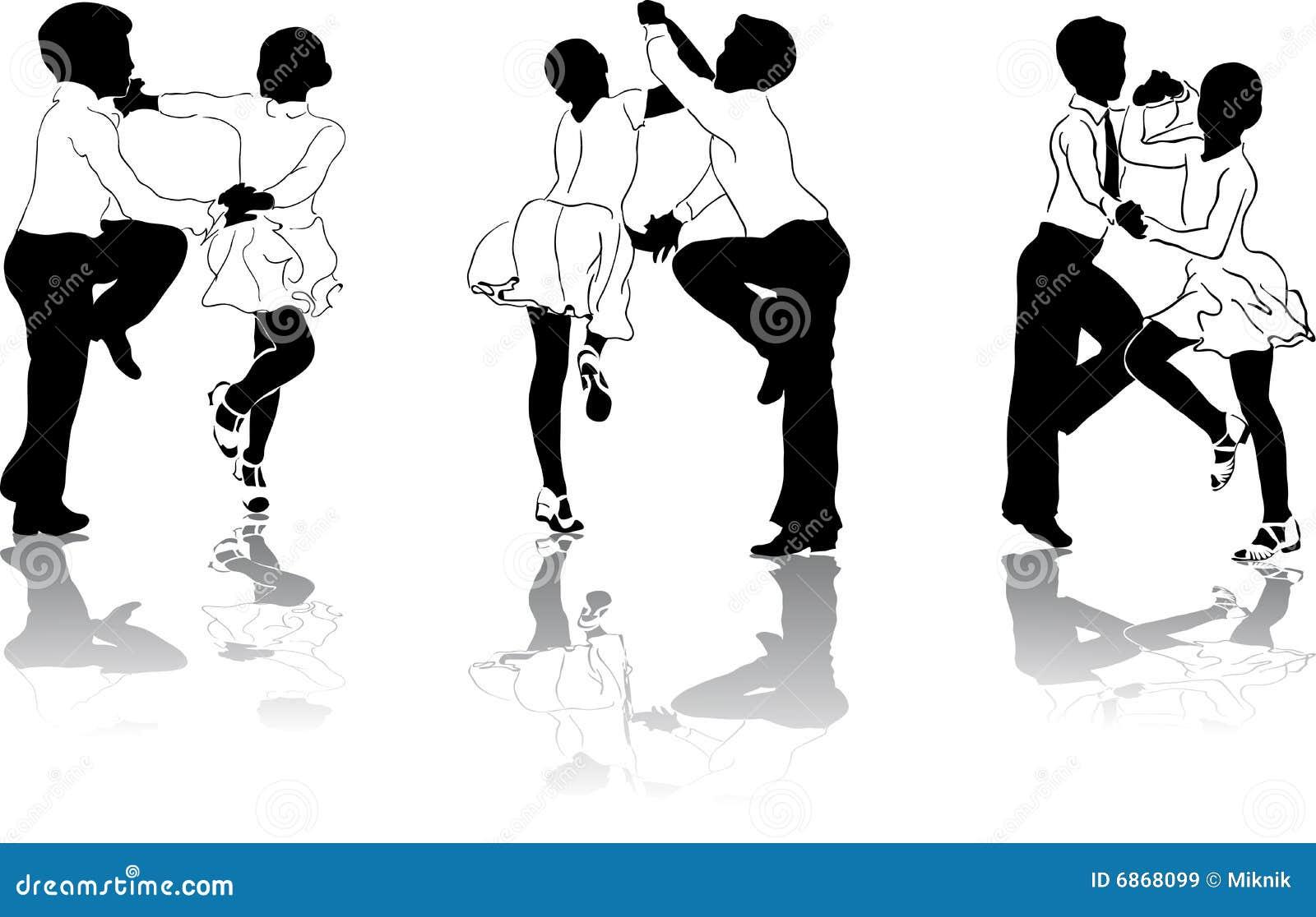 3 танцора молодого