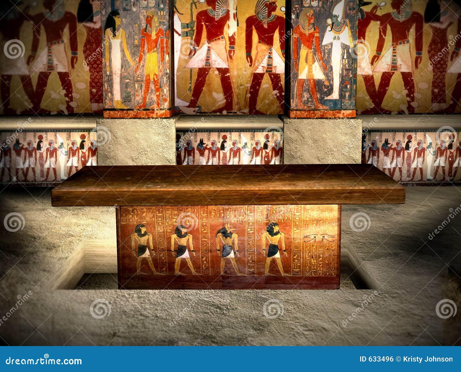 Download 3 усыпальницы Египета стоковое фото. изображение насчитывающей sarcophagus - 633496