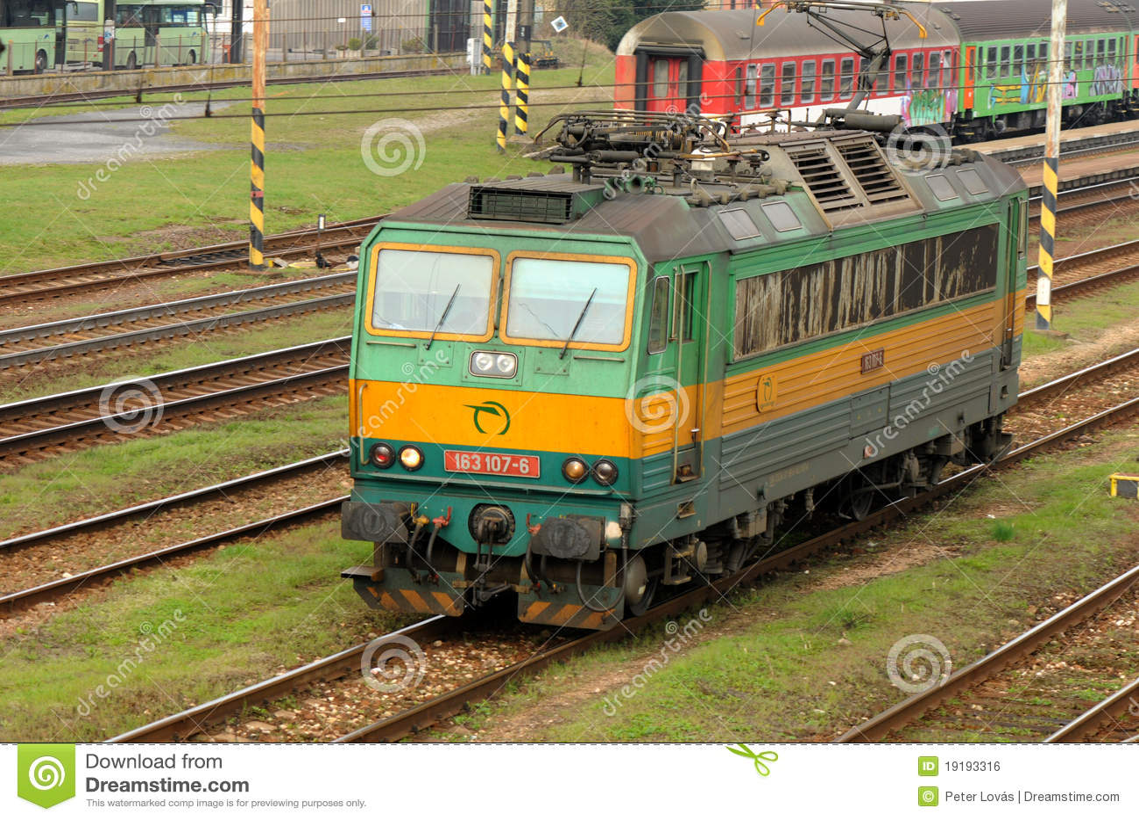 3 107 163 elkraftlokomotiv för 499 e