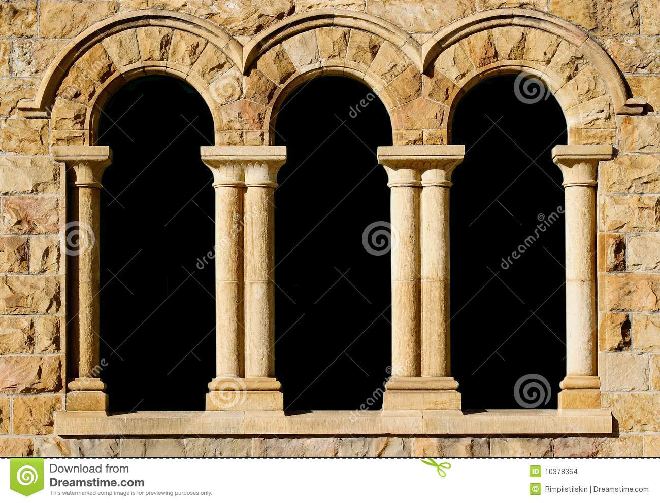 Stone Pillar Arch : Arches in sandstone stock photo image of masonry frame