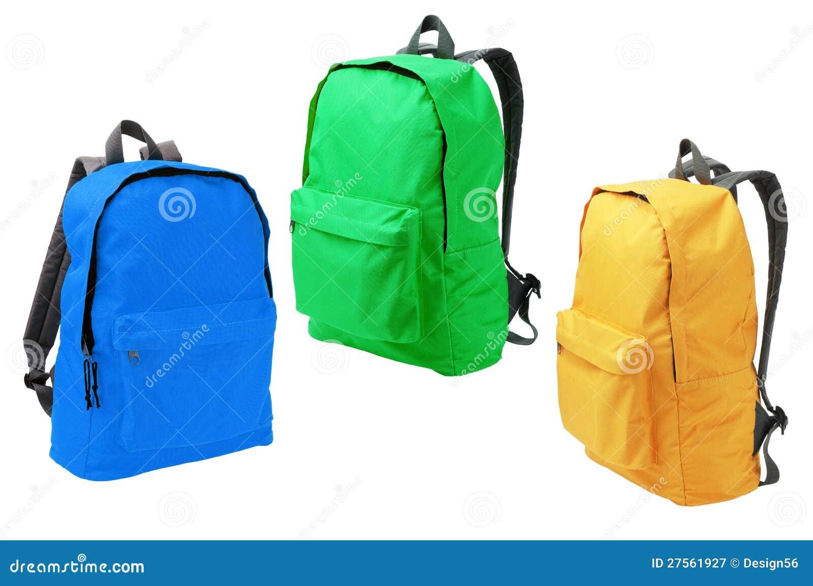 3 Backpacks