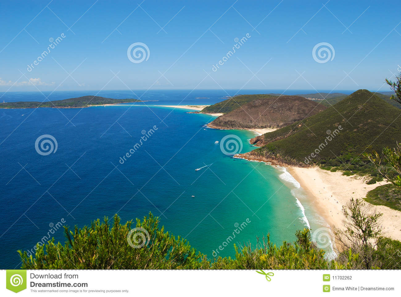 3 Beaches Stock Photography - Image: 11702262