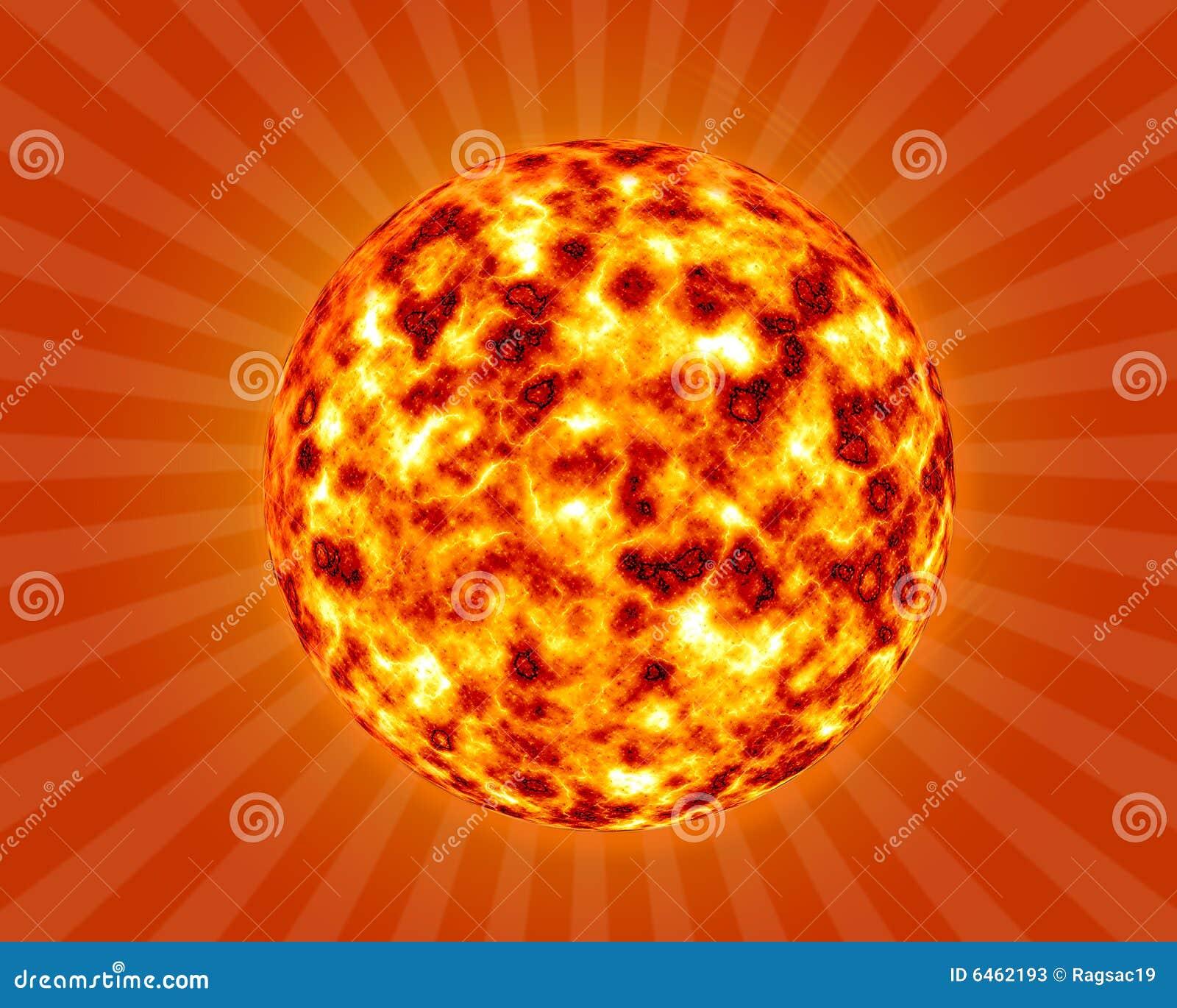 3 d tła gorące lato słońce