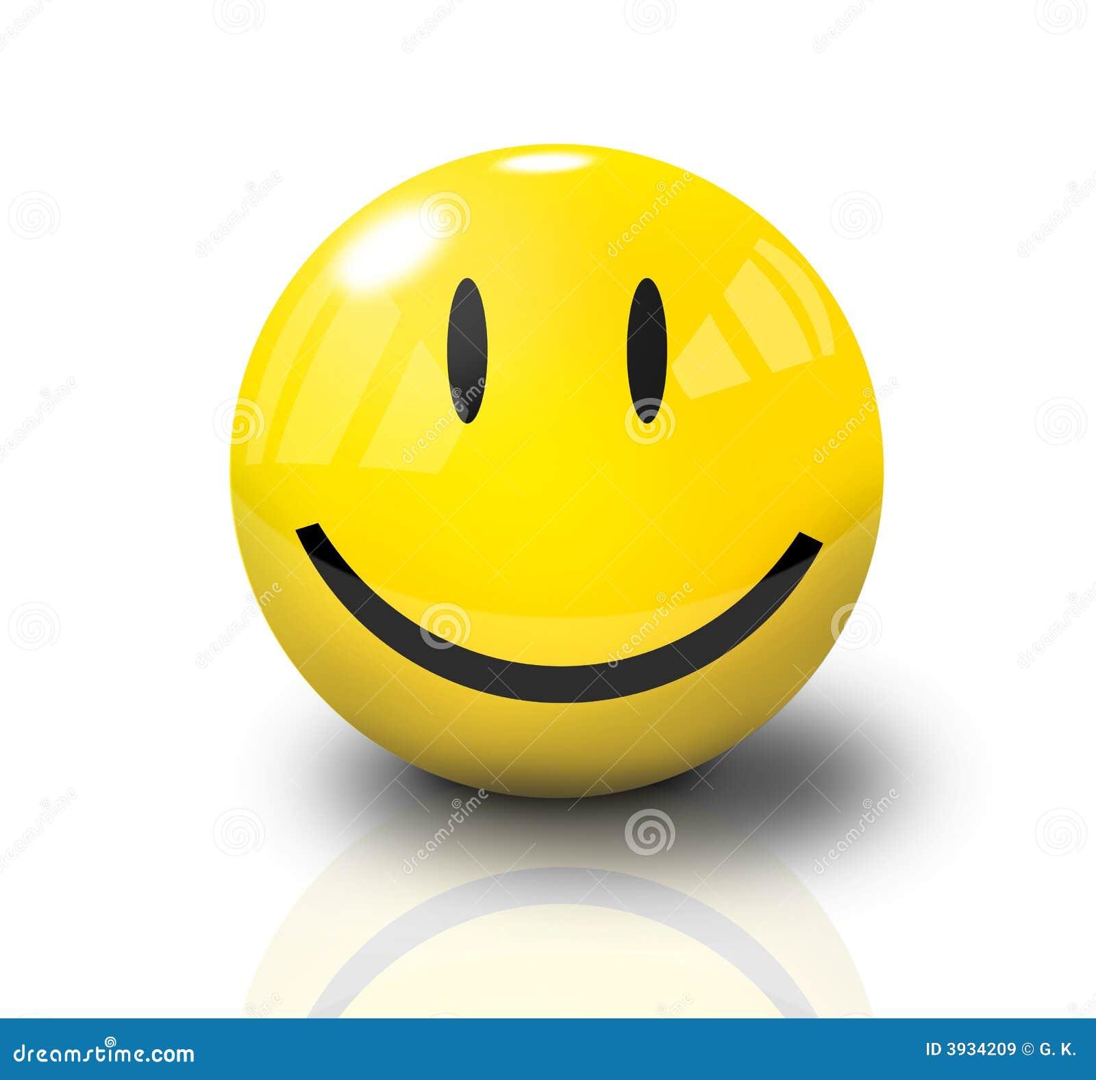 3 d twarzy szczęśliwy uśmiech
