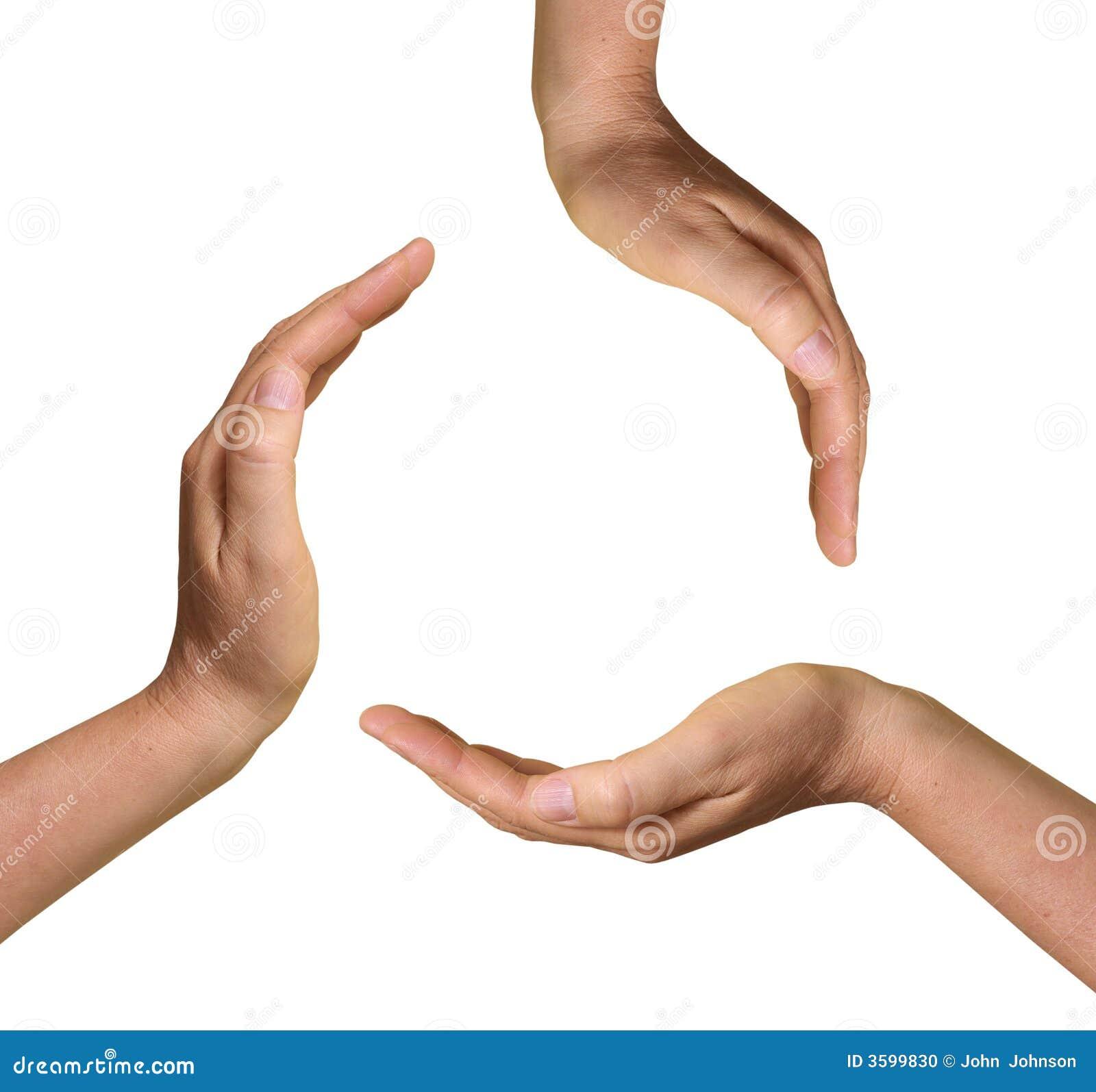 3 Hände