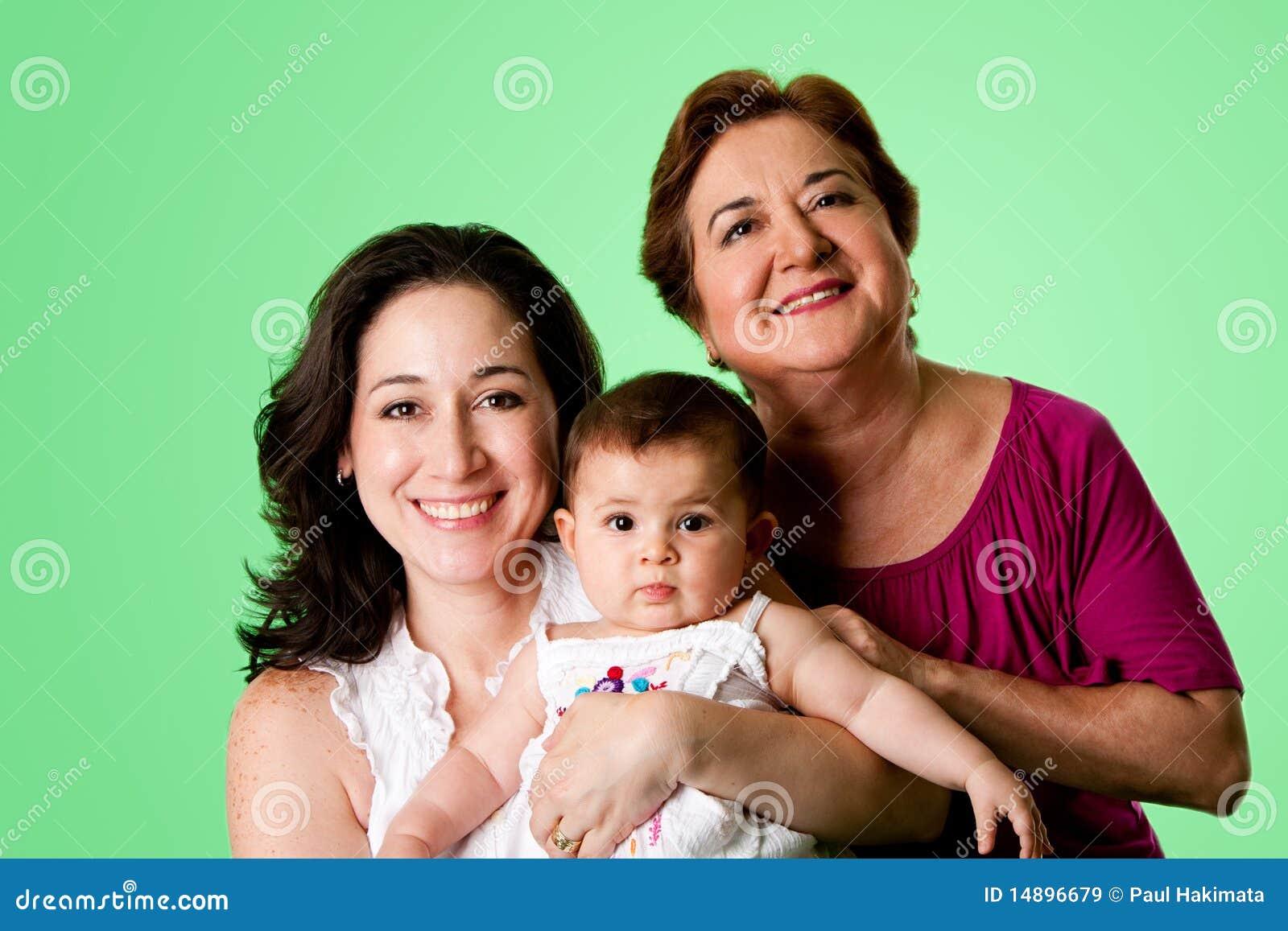3 Generations of women