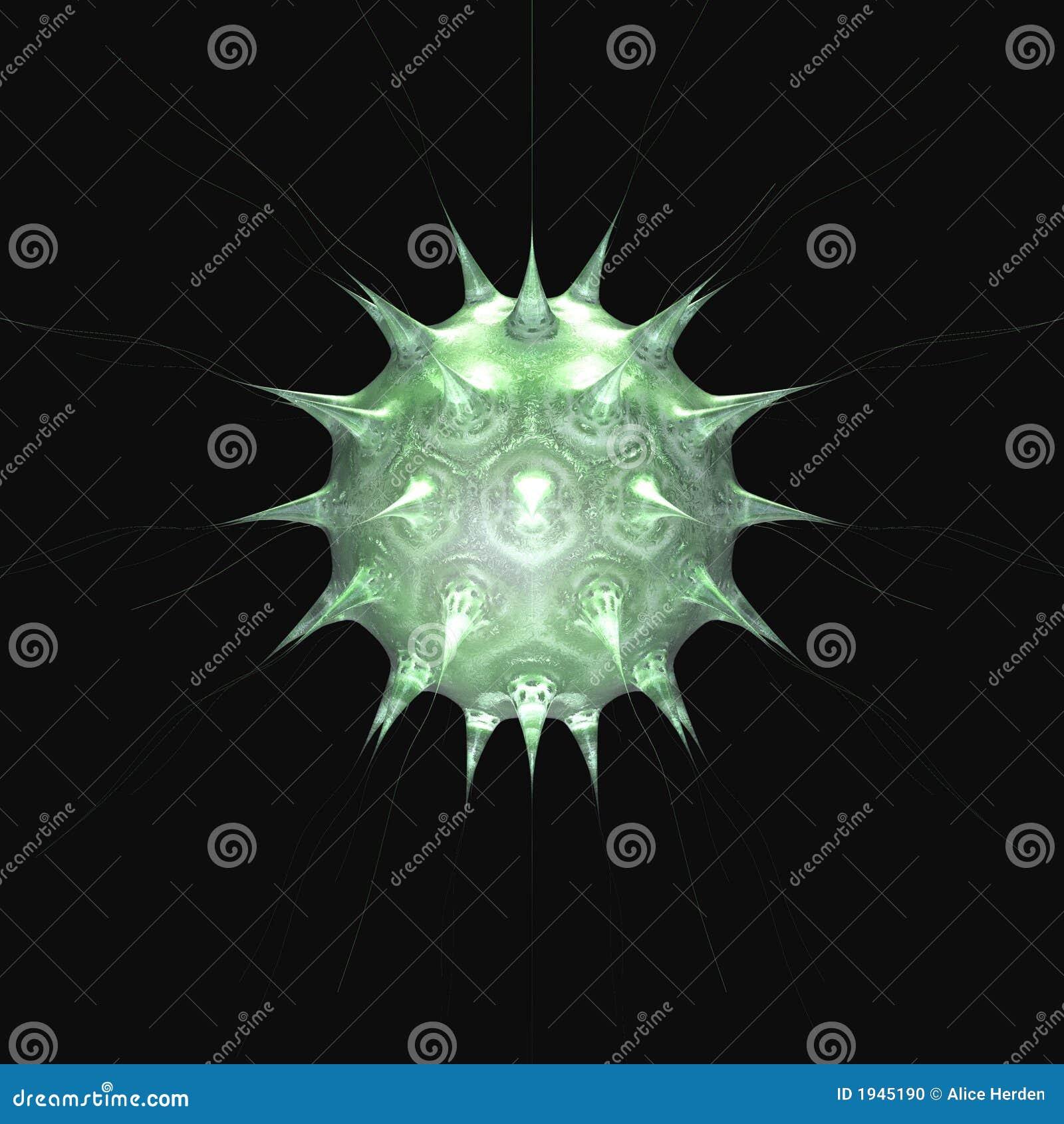 3 grön organism för micro o