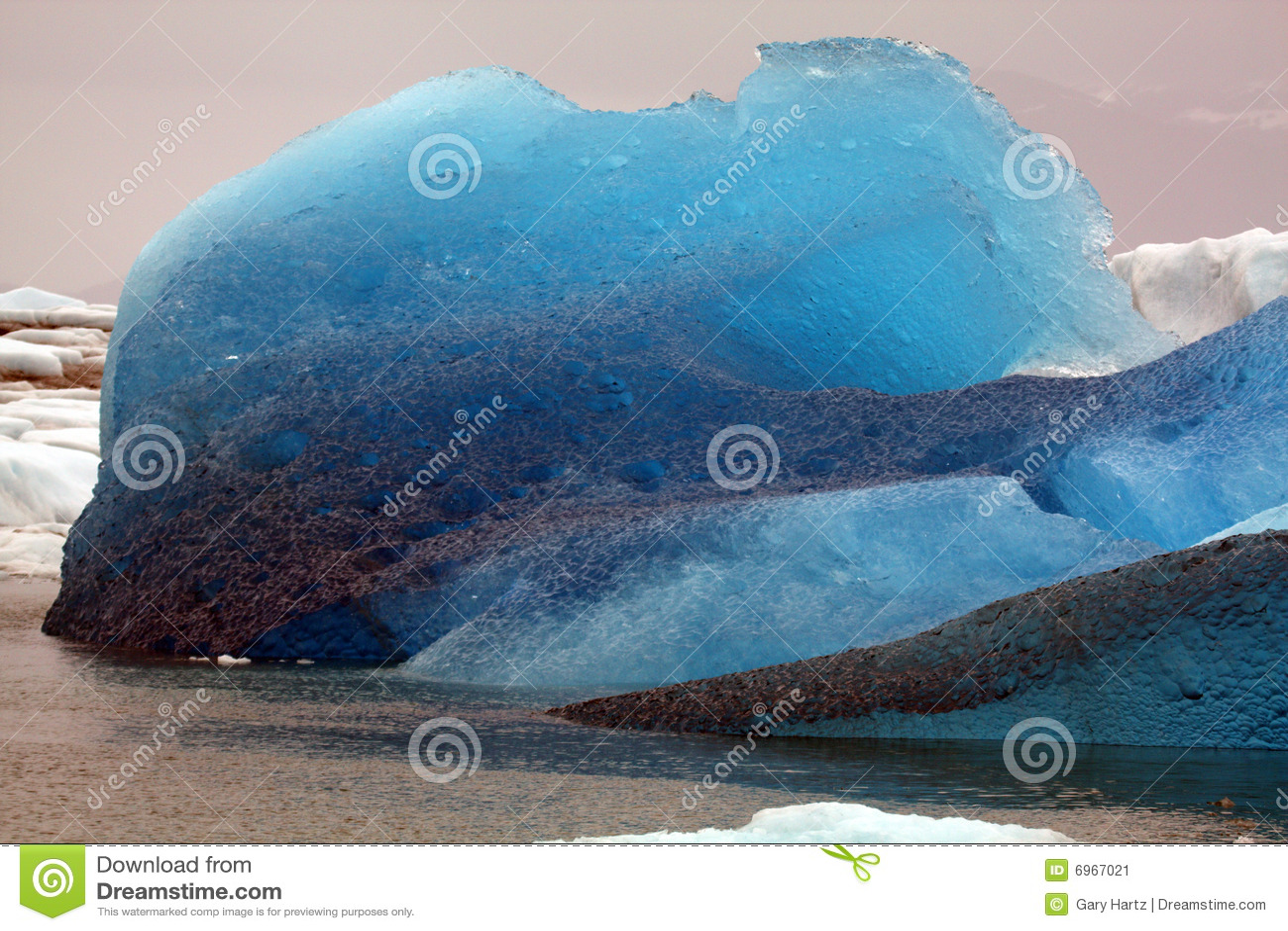 3 icebergs de l Alaska