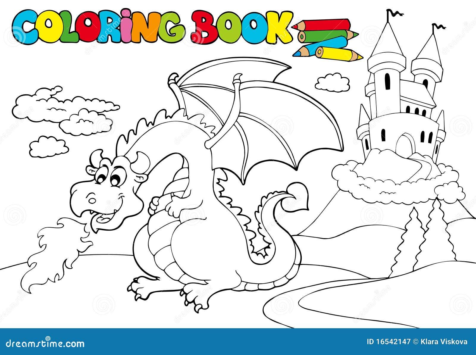 3 kolorystyka duży książkowy smok