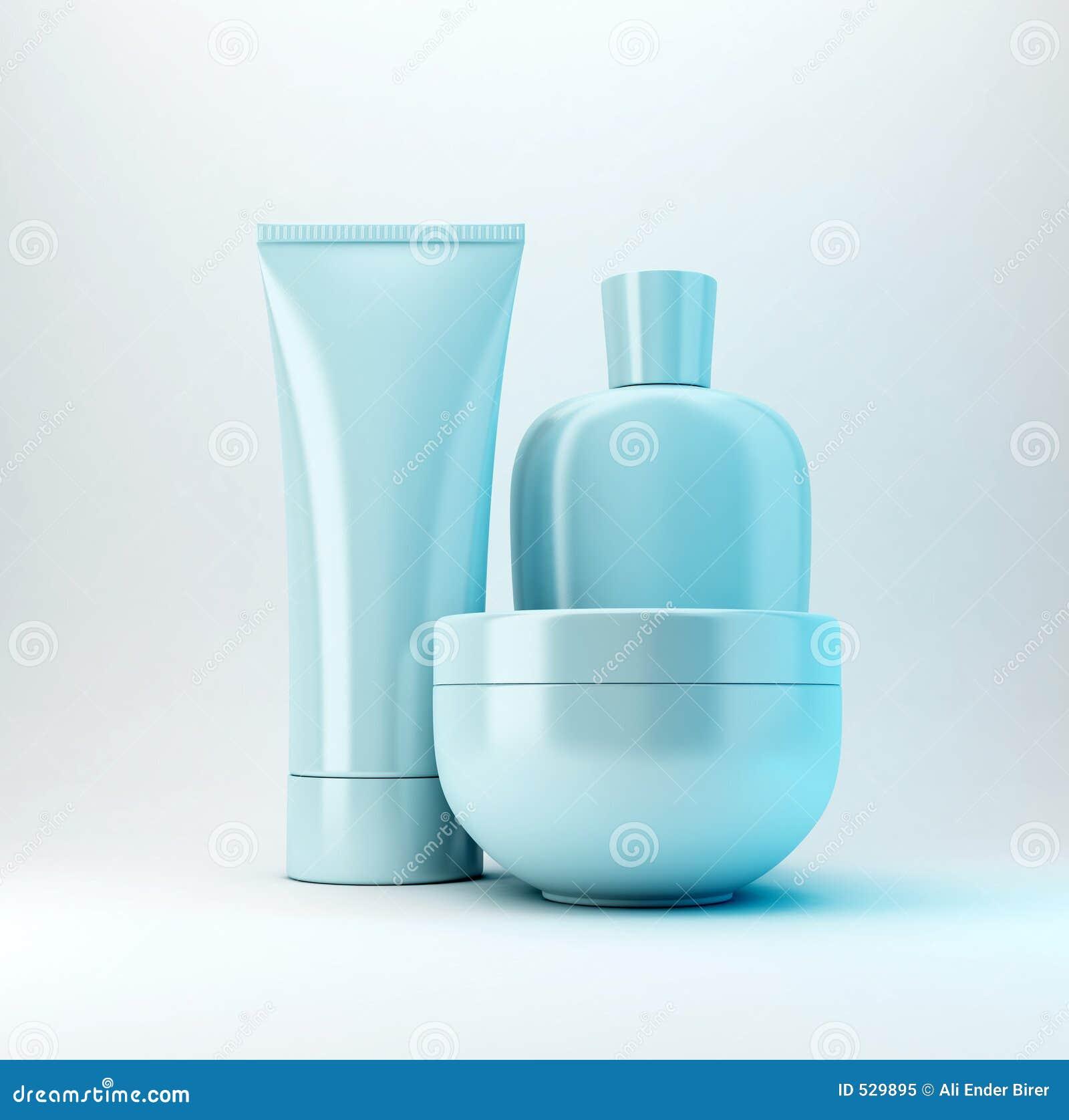 3 kosmetiska produkter