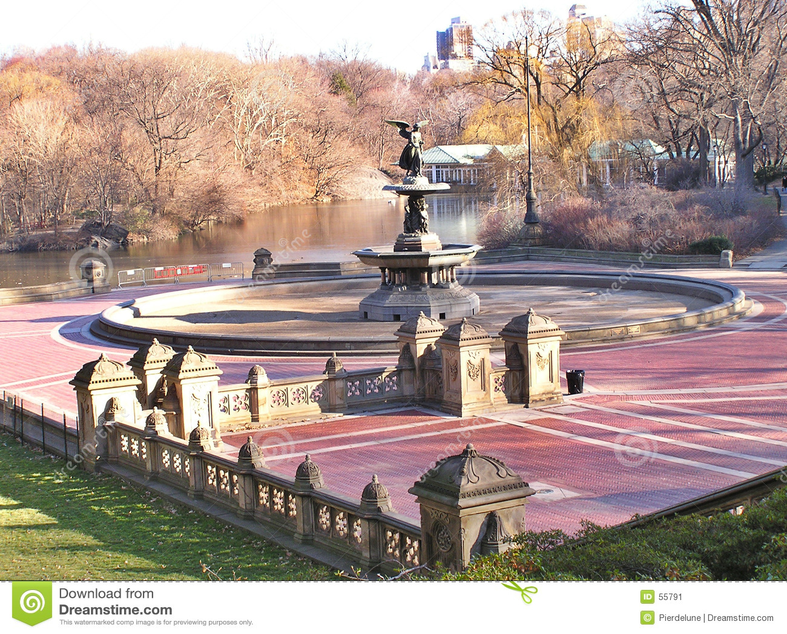 3 scenerii central park