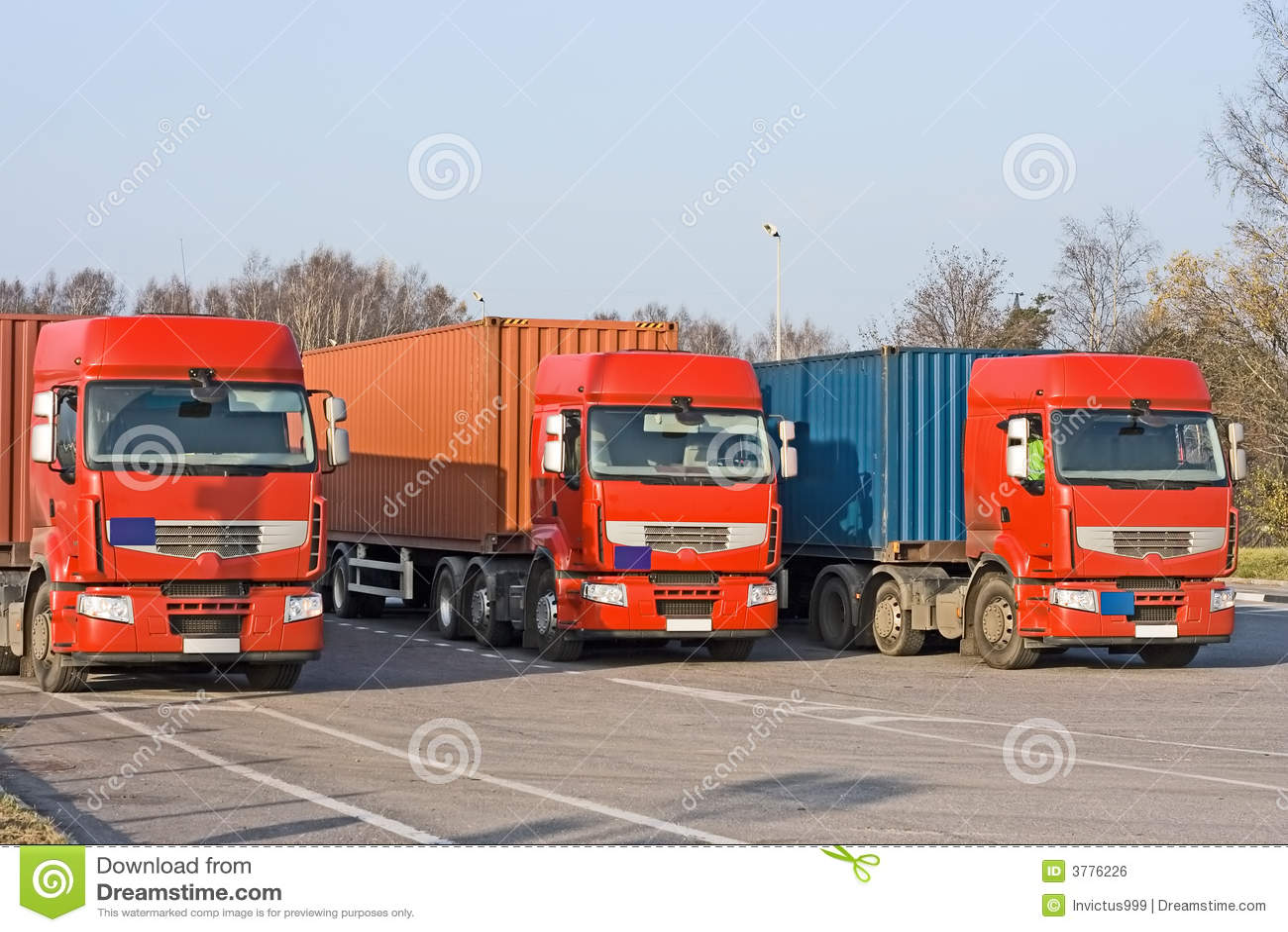 Entrancing Myport Reference Of Pattern 3 Semi Trucks At E Loading