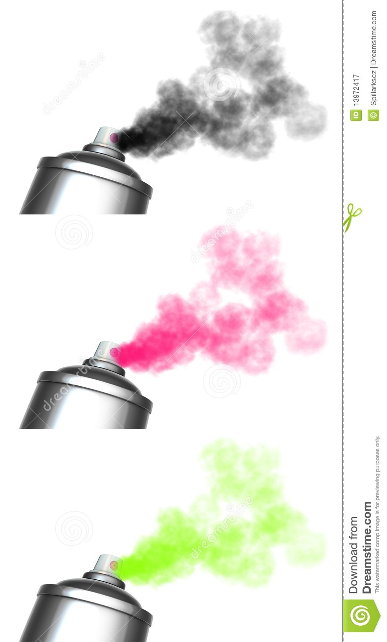3 Spraying Spray Can Graffiti Royalty Free Stock Photography Image 13972417