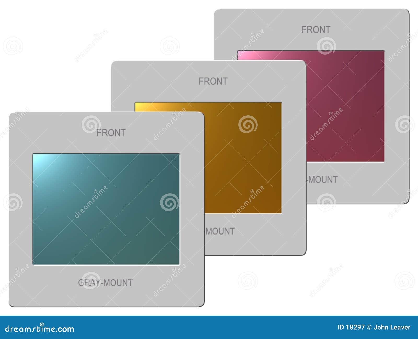 3 transparancies пленки