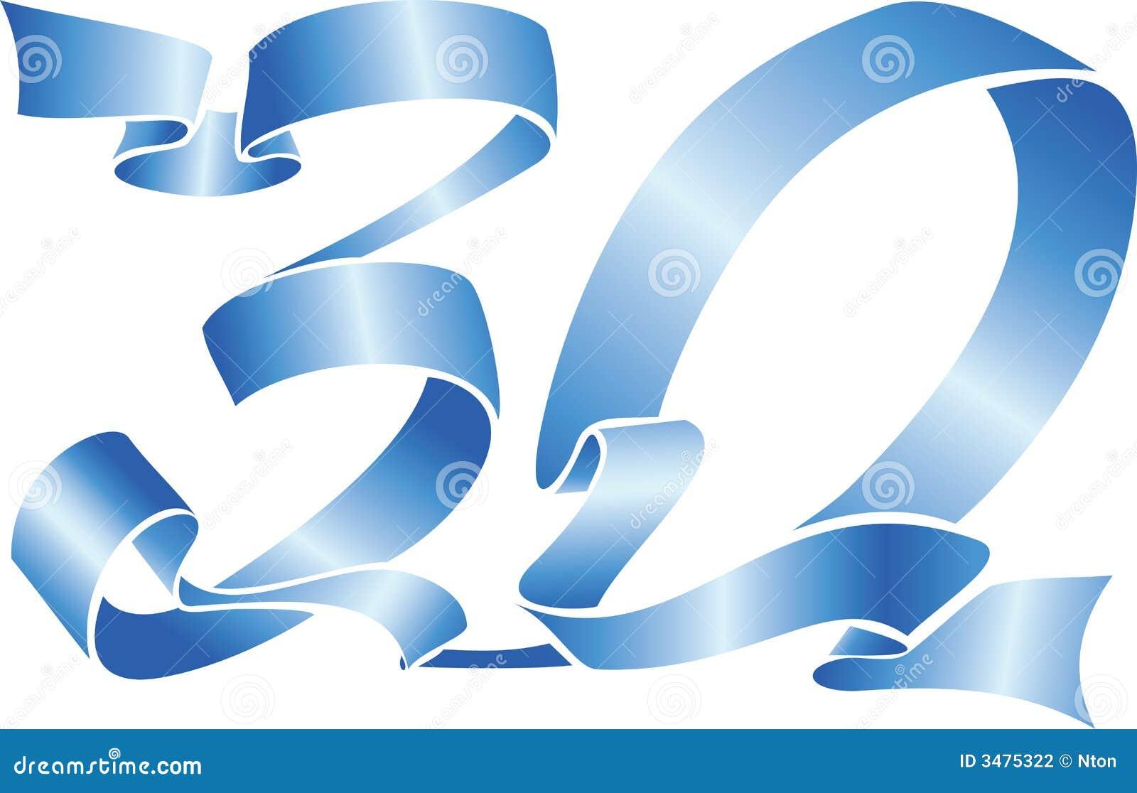 30 blue ribbon