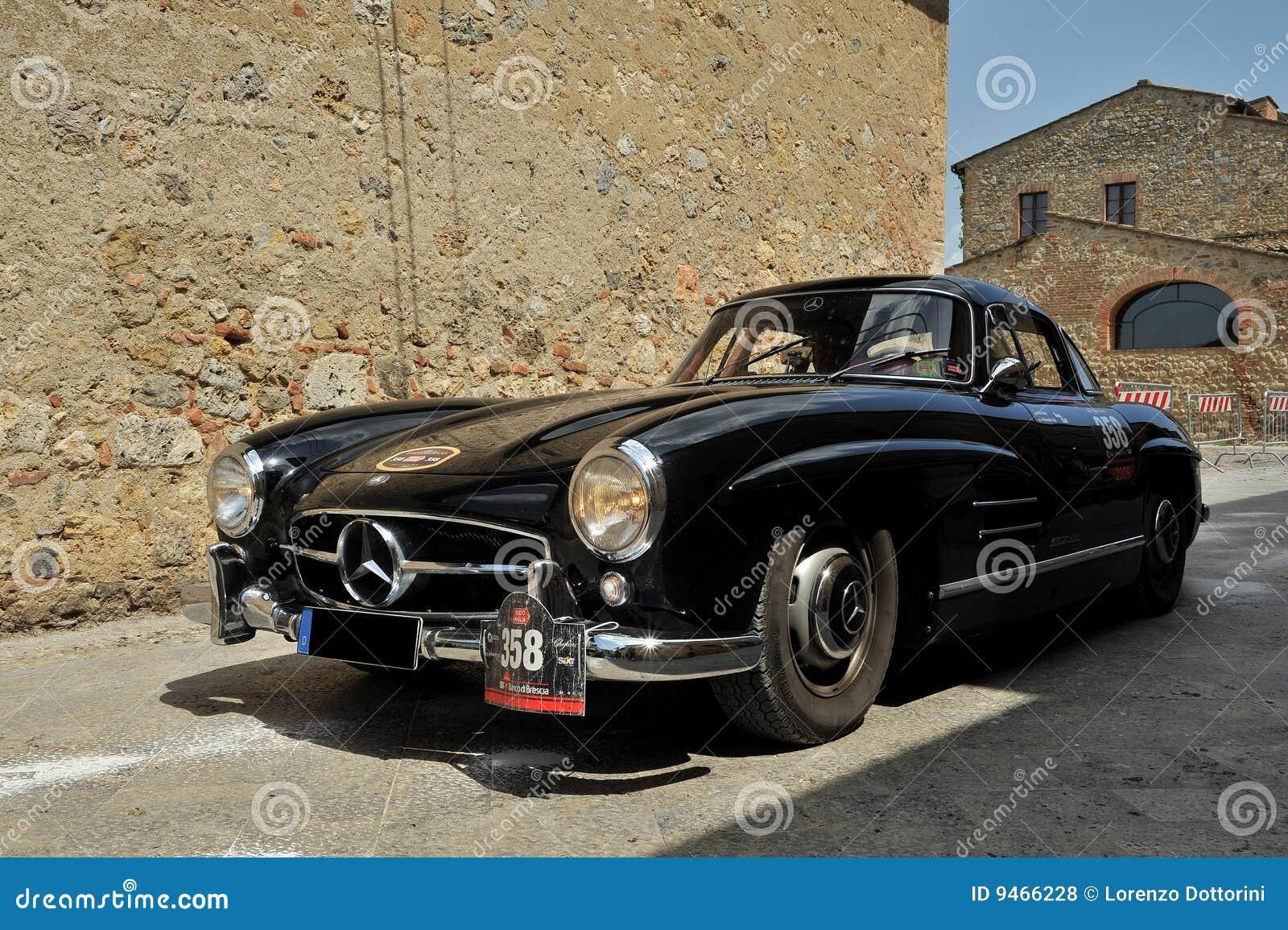 300 1956 benz ja Mercedes sl w198