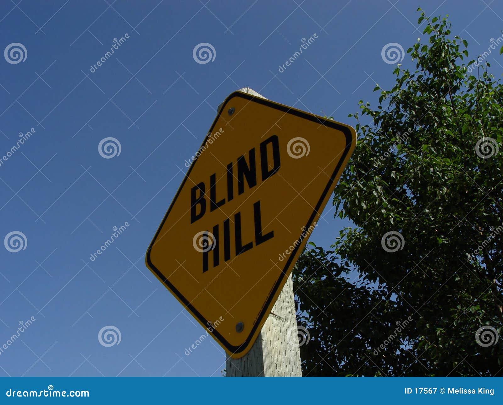 盲目的小山符号