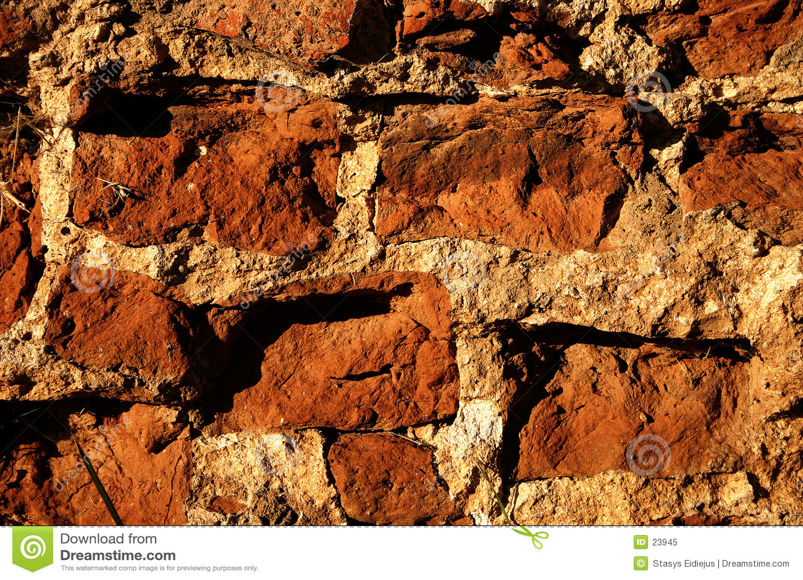 砖关闭老墙壁