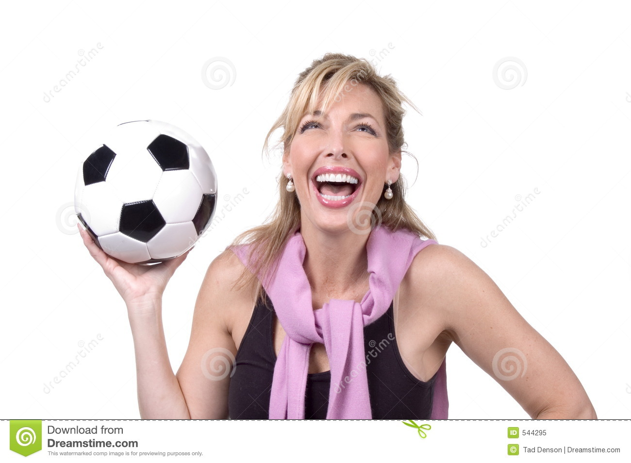 30s Soccer Mom Royalty Free Stock Photo - Image: 544295