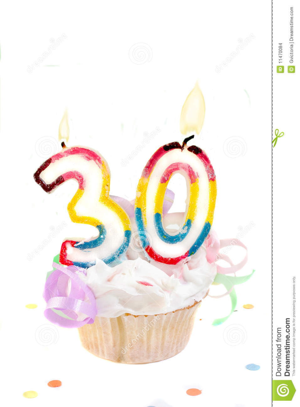 30th Birthday Stock Photo Image Of Colorful 30th