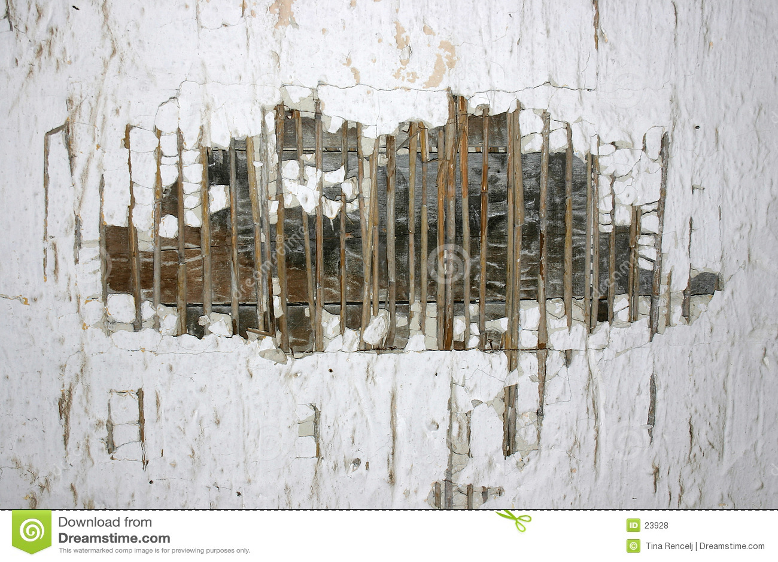 老被破坏的纹理墙壁