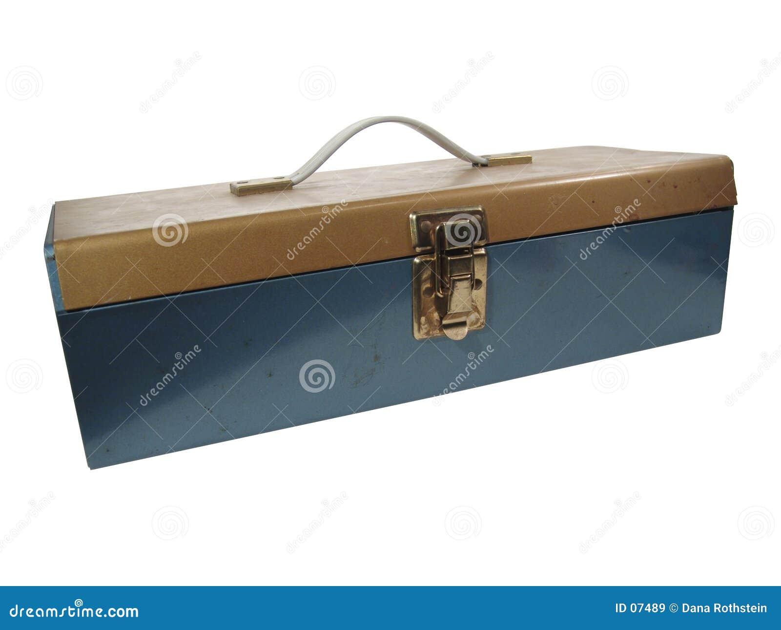 老配件箱金属