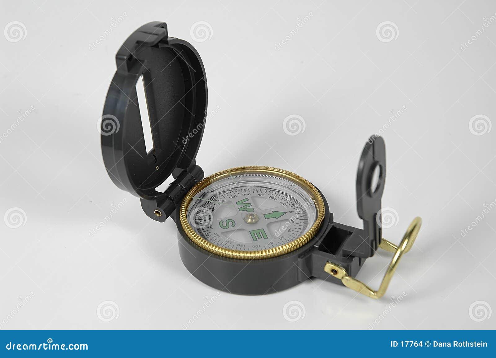 背景指南针白色