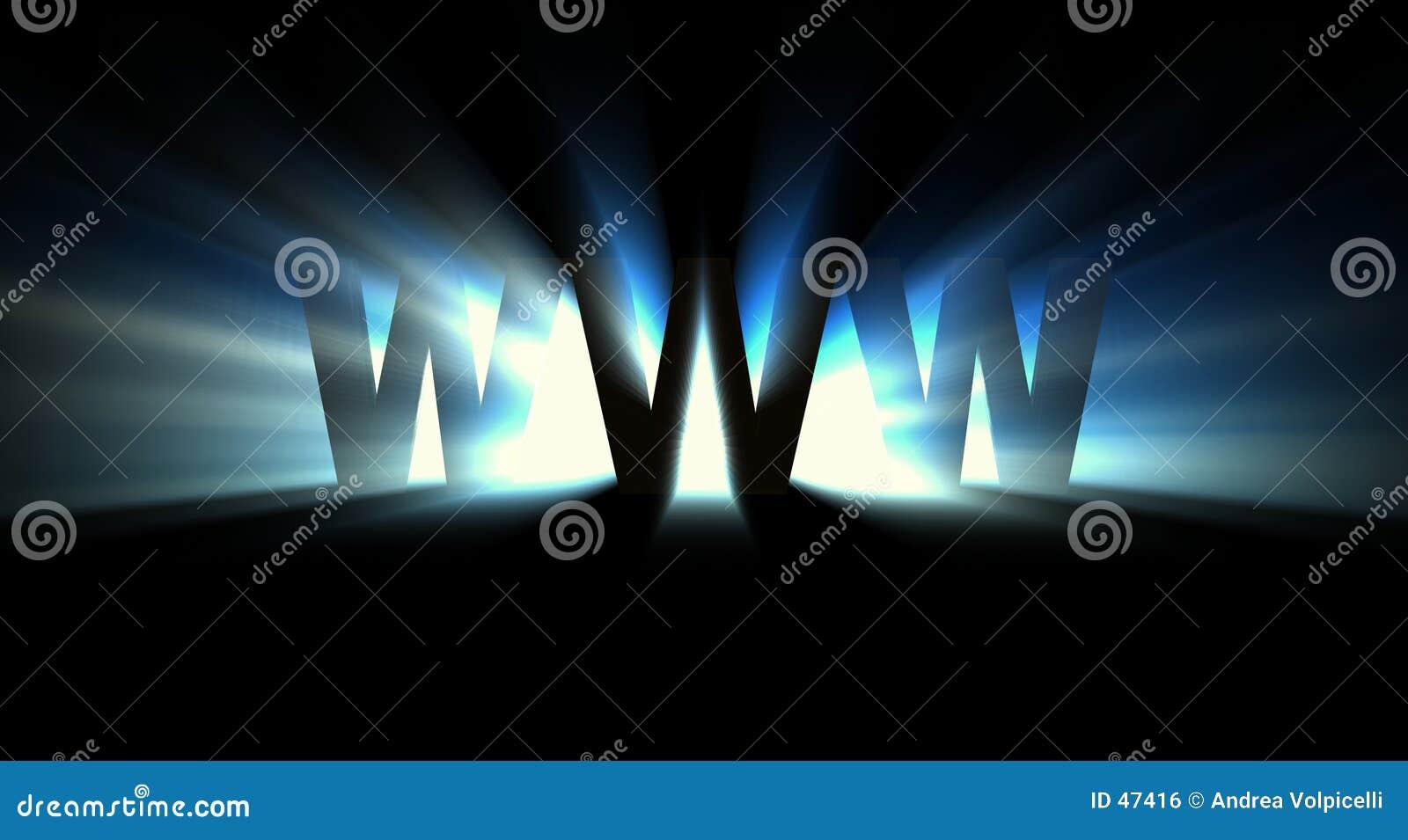 蓝色万维网