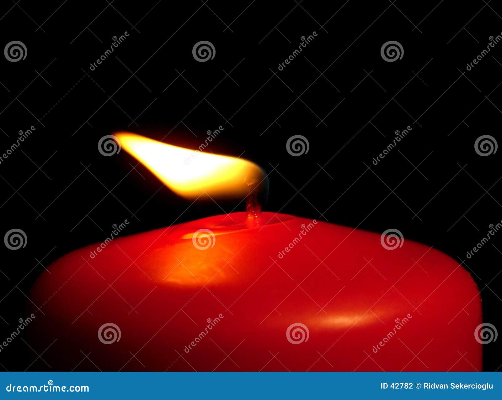 蜡烛红色风