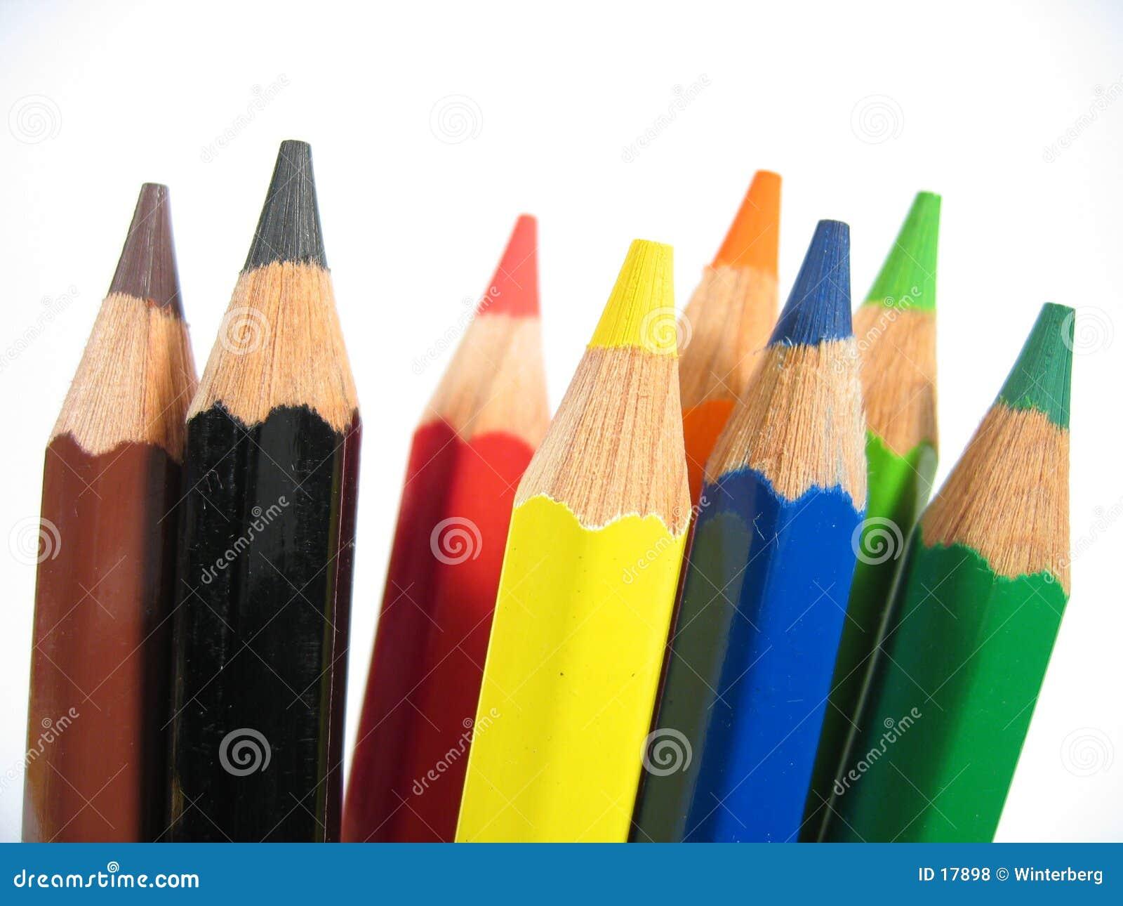 蜡笔我挺直
