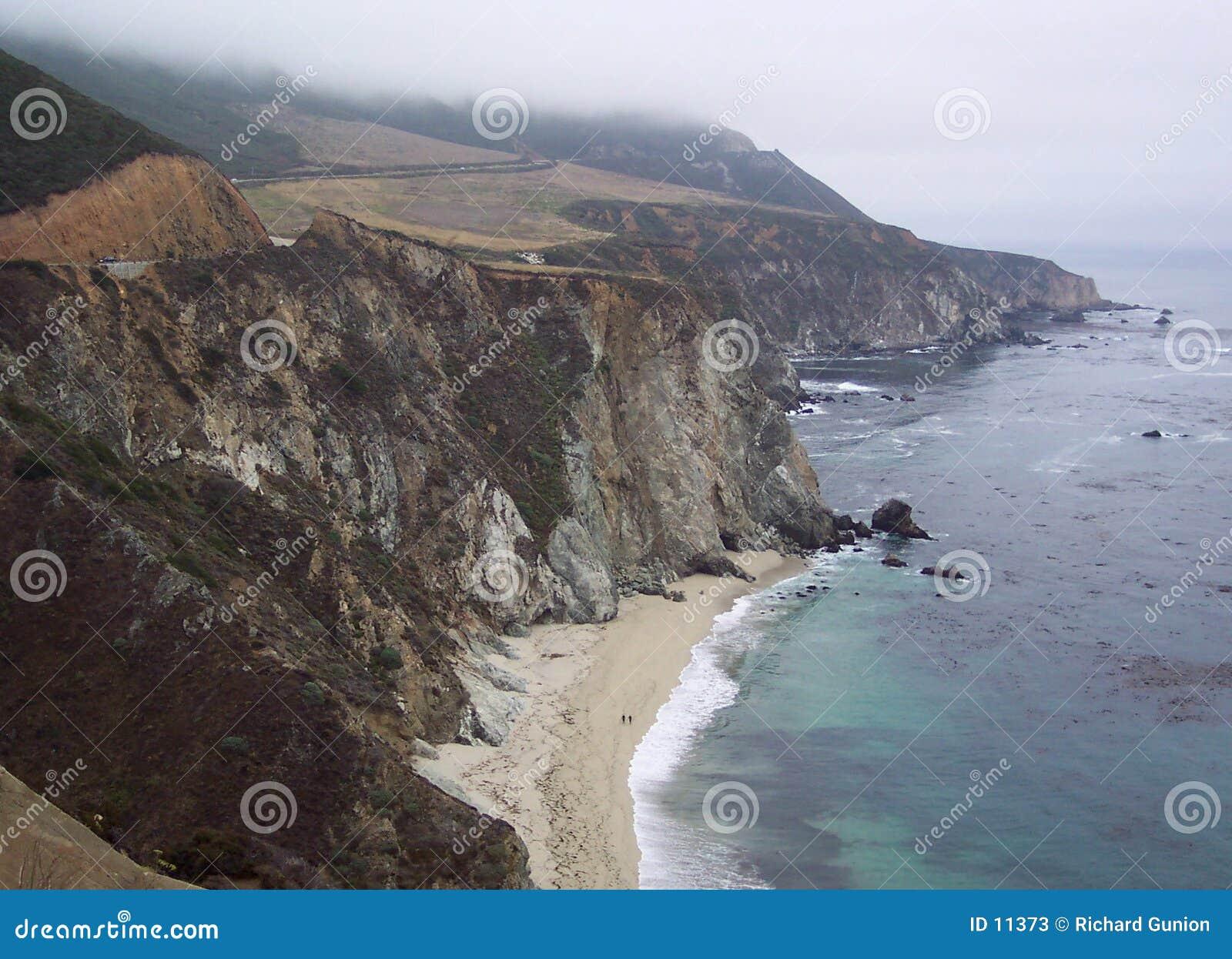 被限制的海岸雾