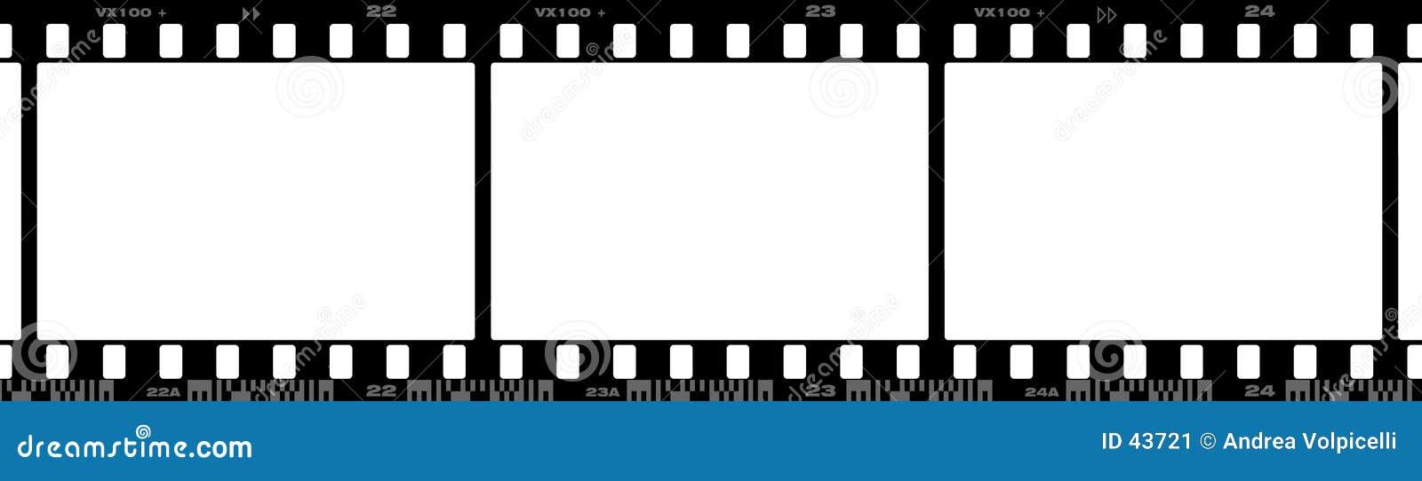 Download 35 Millimeter-Film stock abbildung. Illustration von negativ - 43721