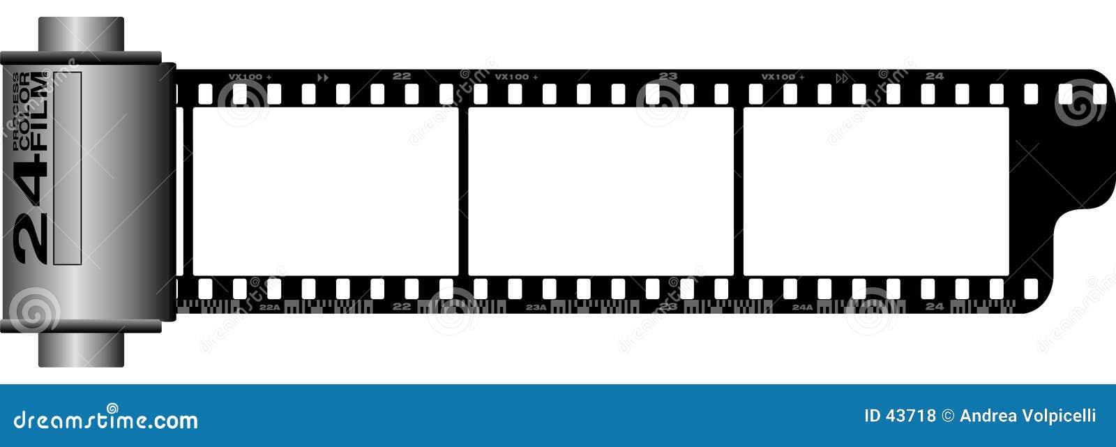 35 Millimeter Filmrollen-