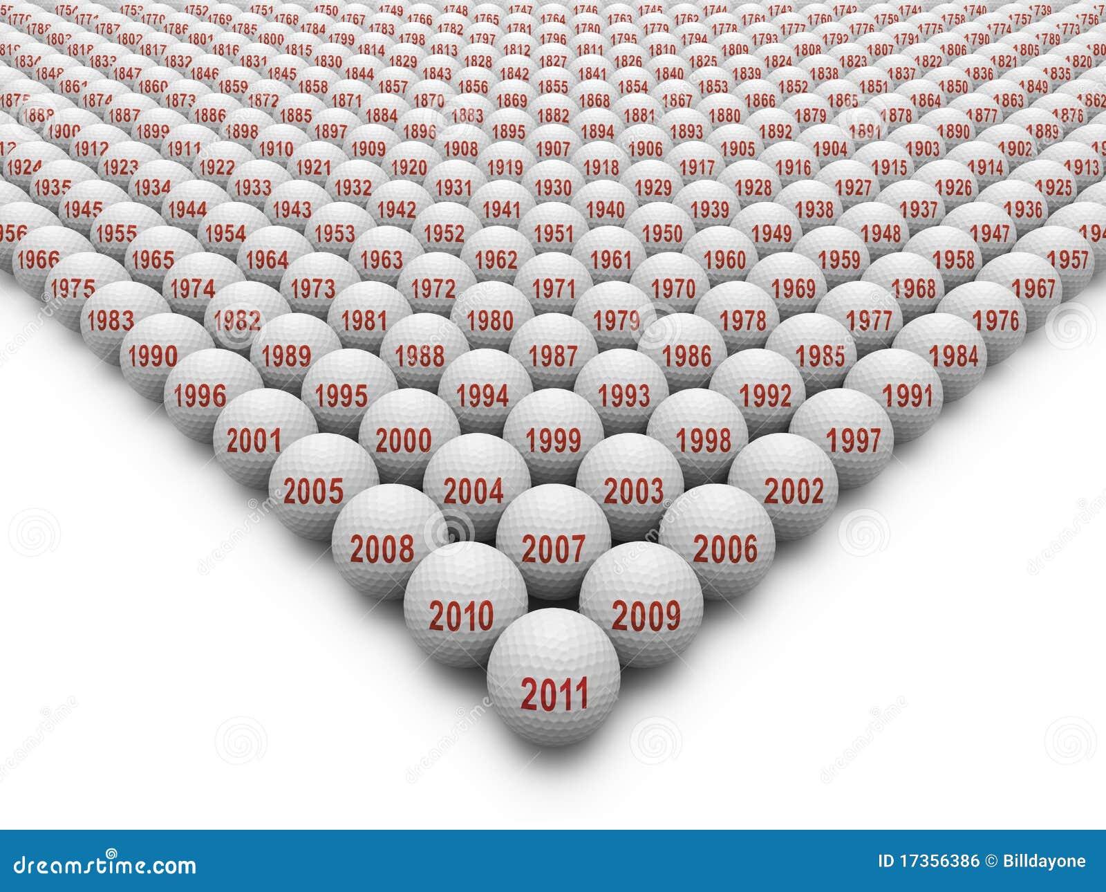 350 шариков golf история