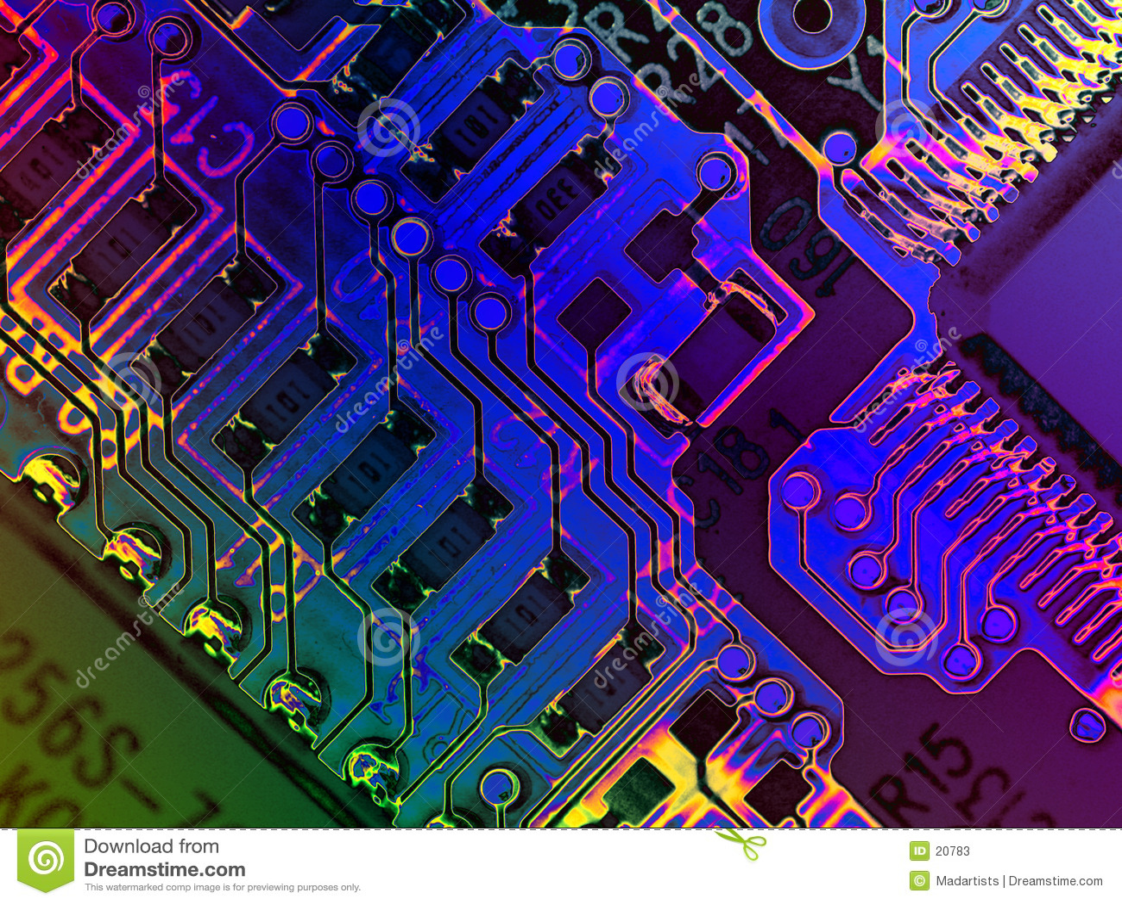 计算机冷静grunge纹理